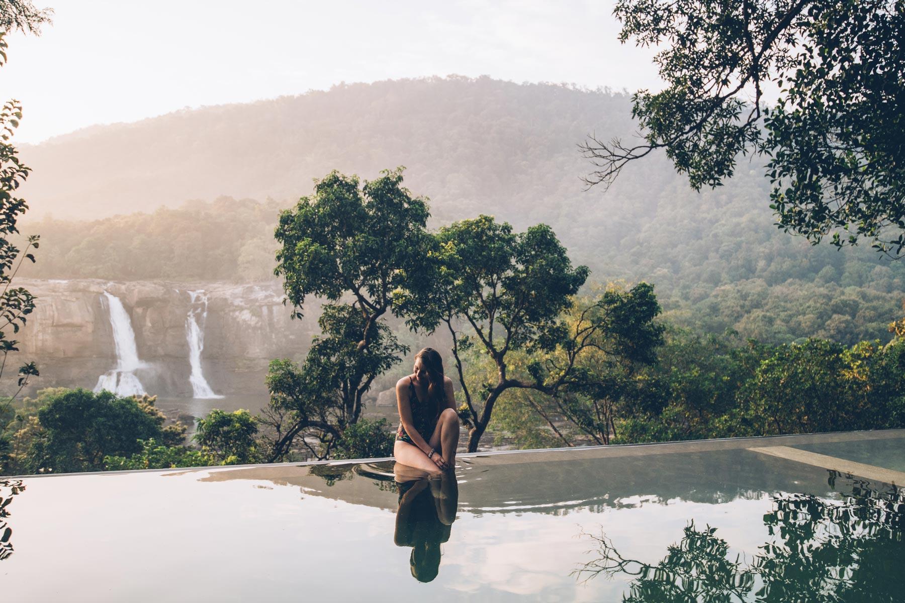 Rainforest Athirapally, Kerala, Inde