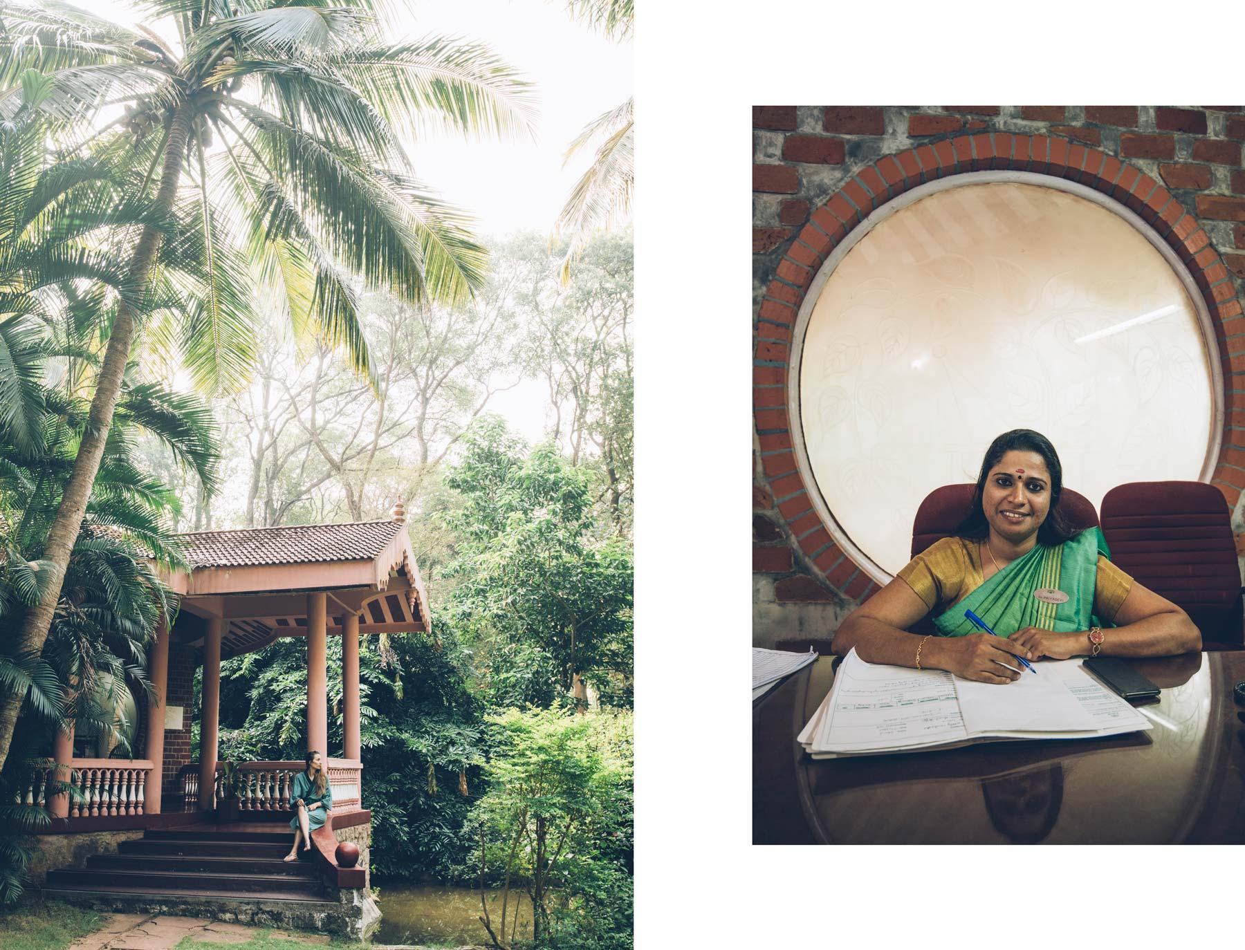 Kairali Village, Consultation avec le médecin Ayurveda