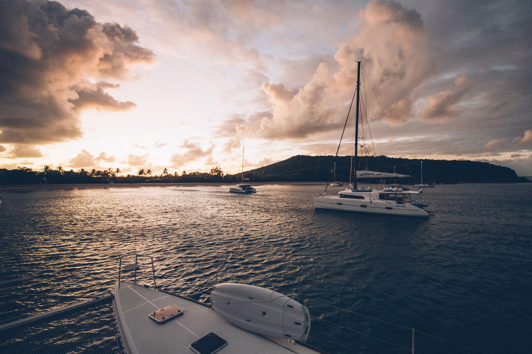 Croisière dans les iles Grenadines