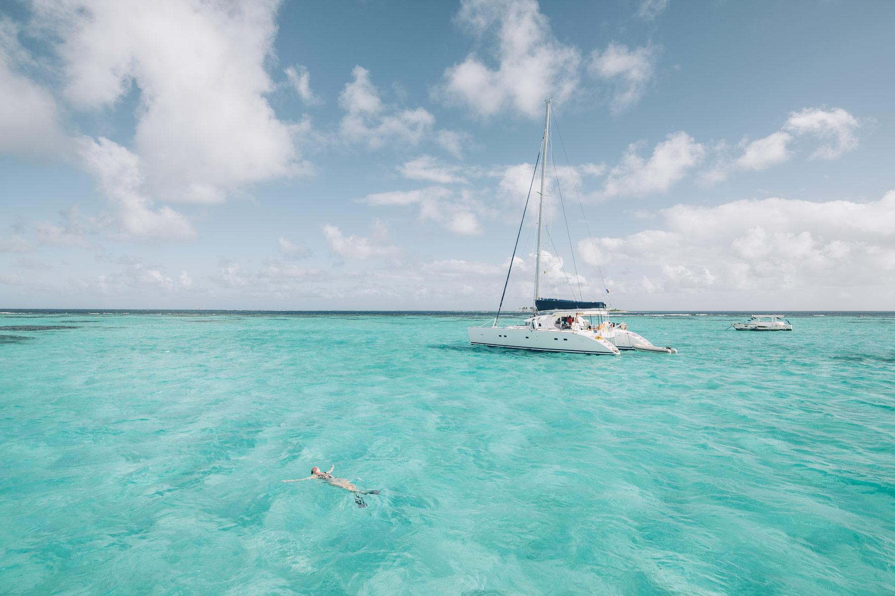 Croisière Tobago Cays, grenadines