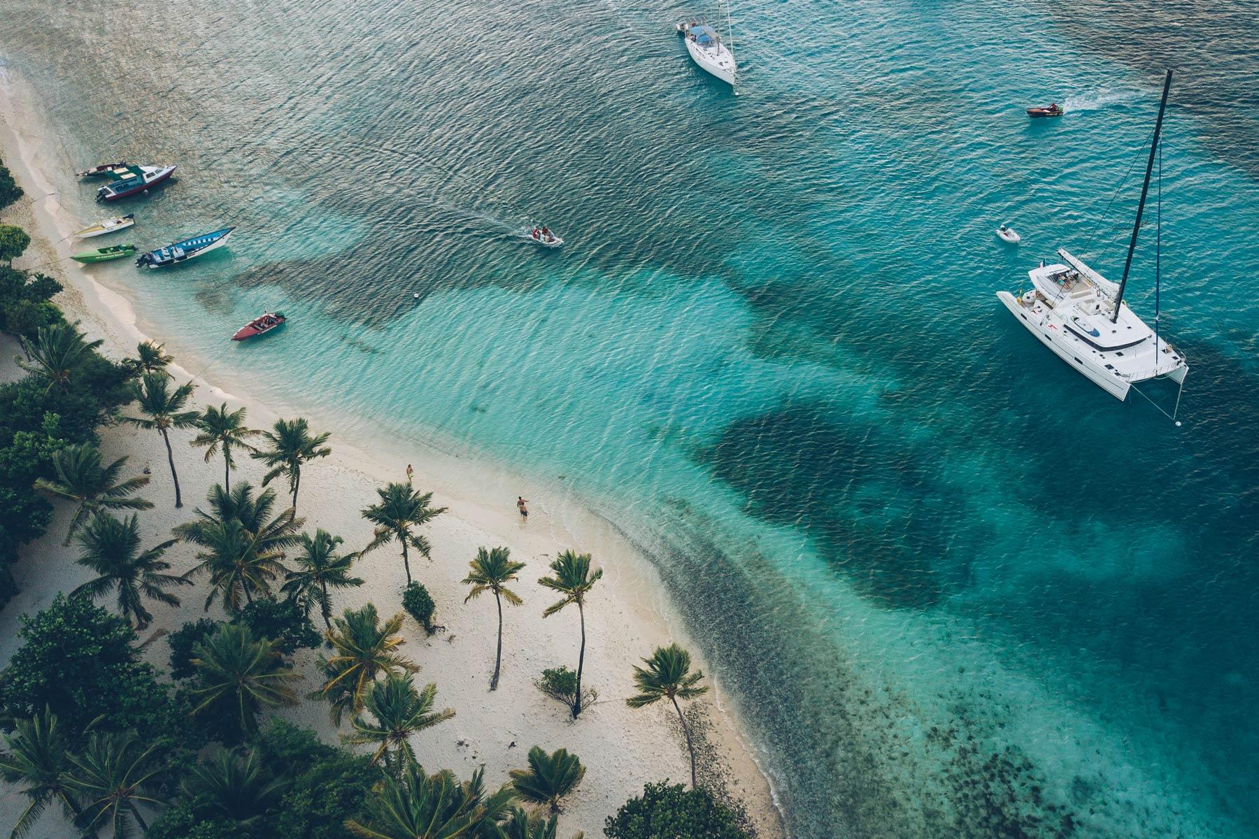 Croisiere en Catamaran dans les Grenadines
