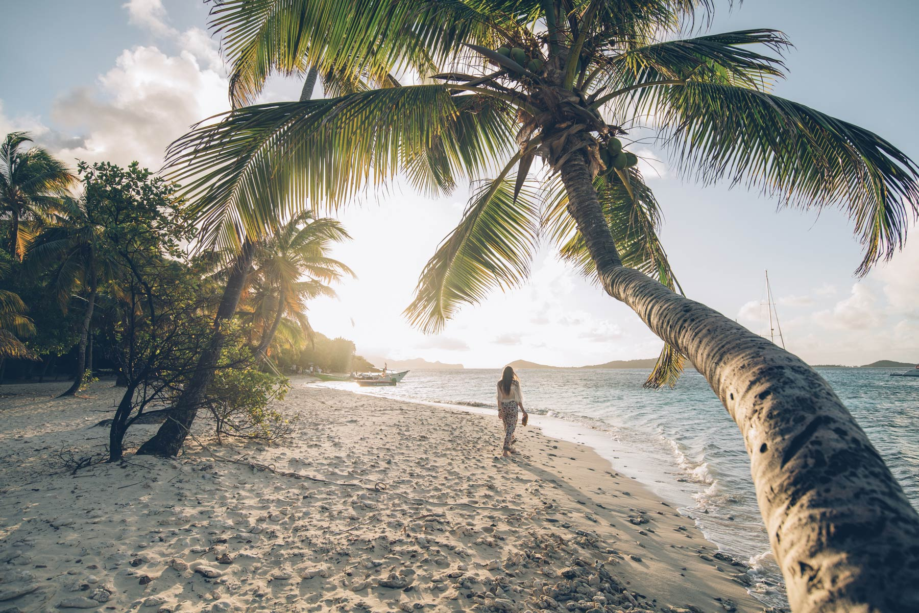 Plage Grenadines