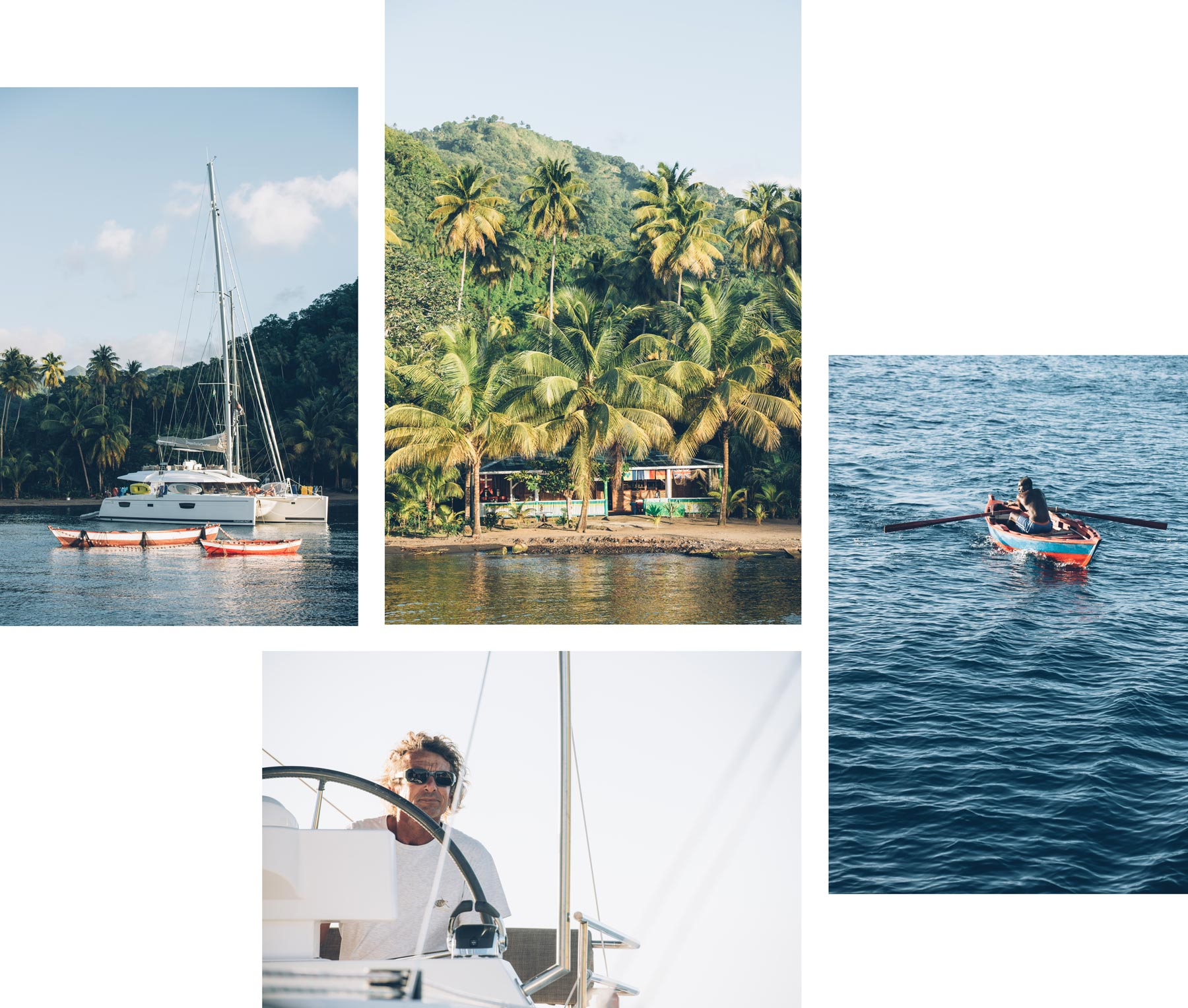 Ile de St Vincent, Croisière Grenadines