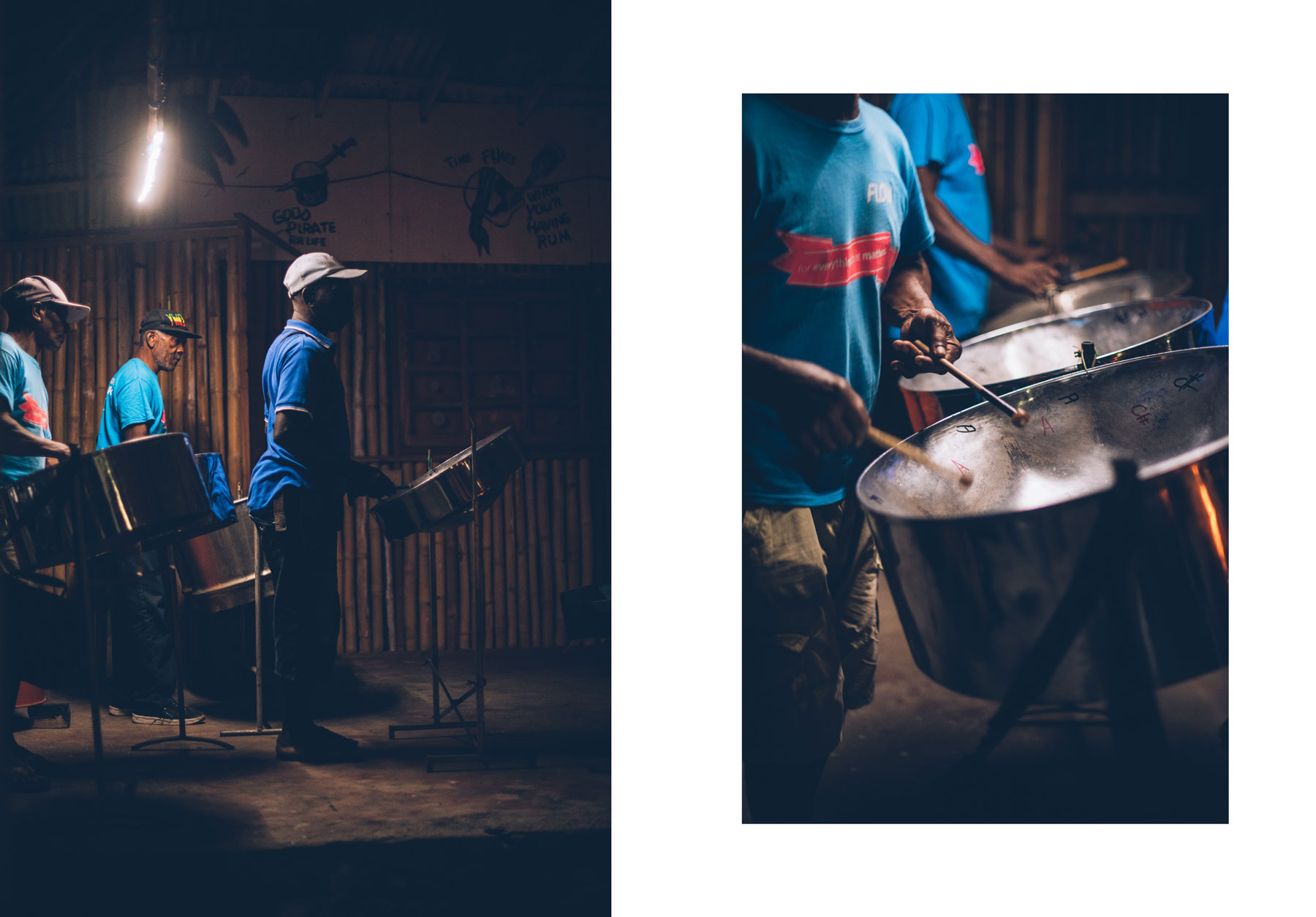 Steel band, Caraïbes, Saint Vincent