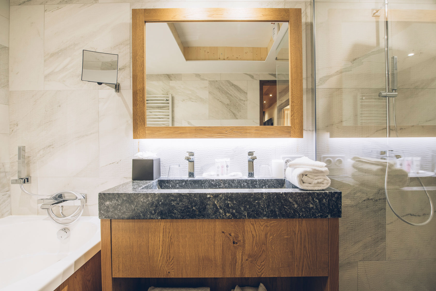 Salle de bain, Hotel & Spa Alparena