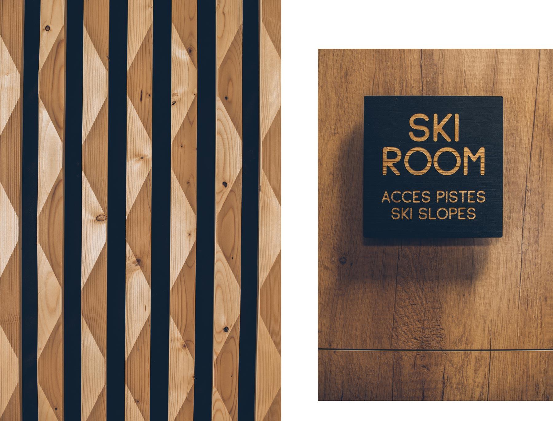 Ski Room, Alparena, La Rosière