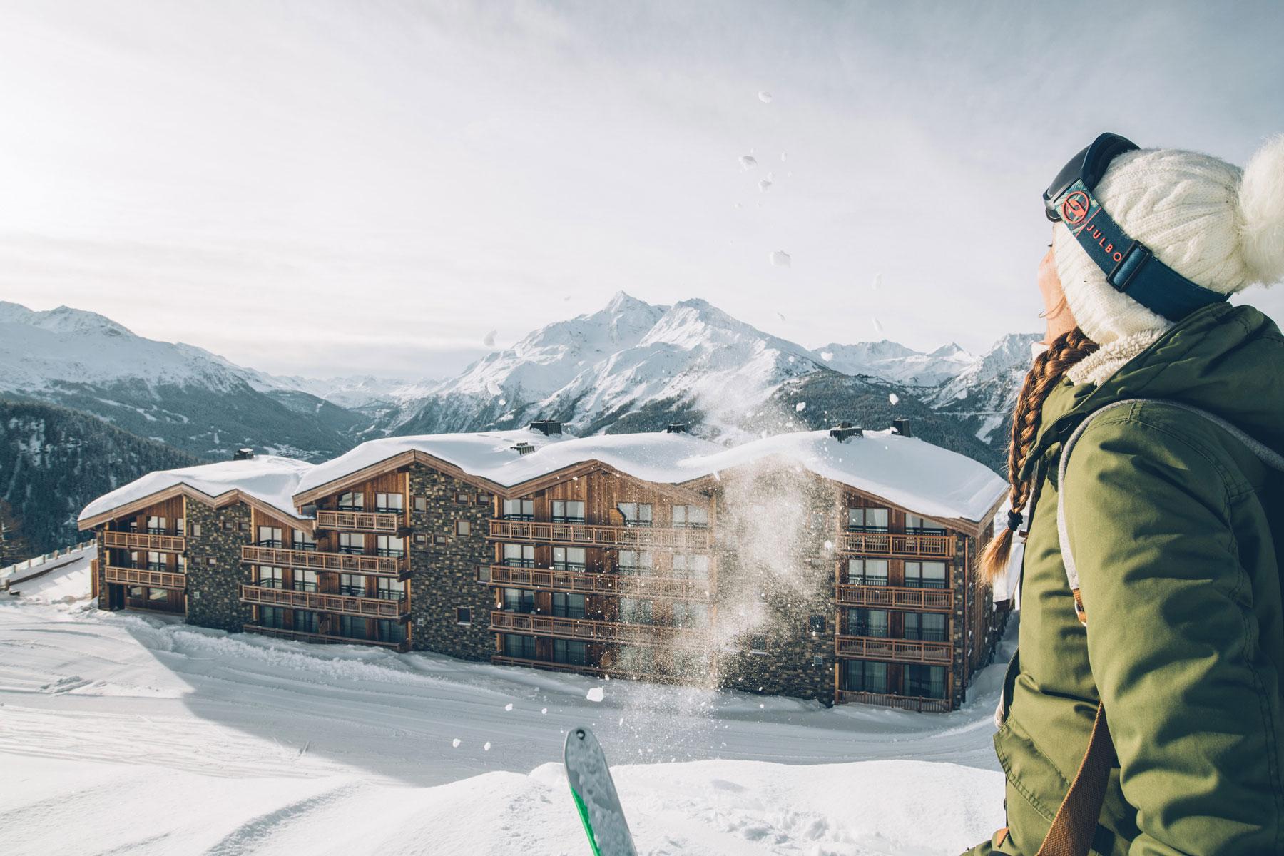 Hotel Alparena sur les pistes de ski