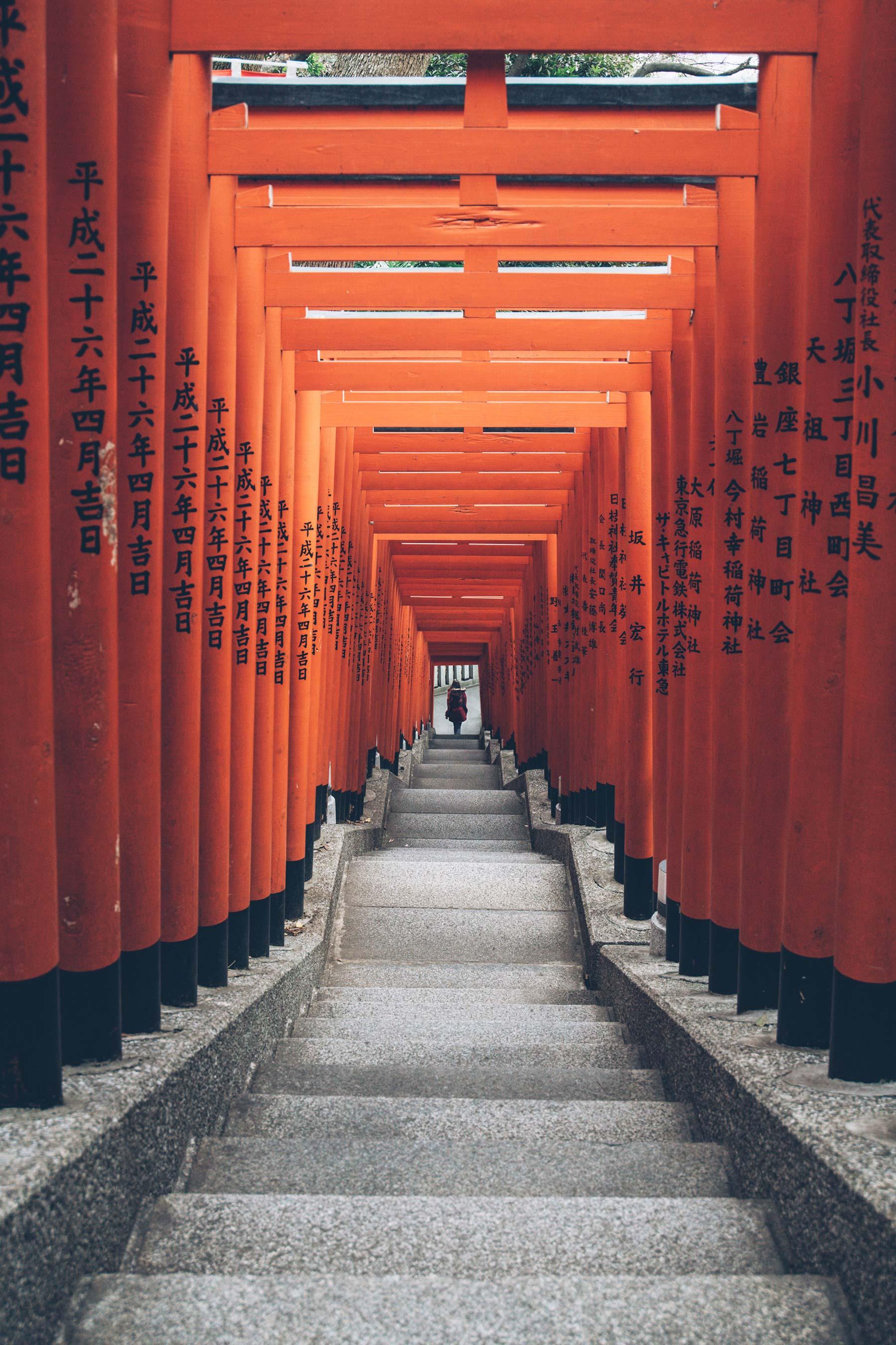 Hie-jinja, Torris (Portes) Orange Tokyo