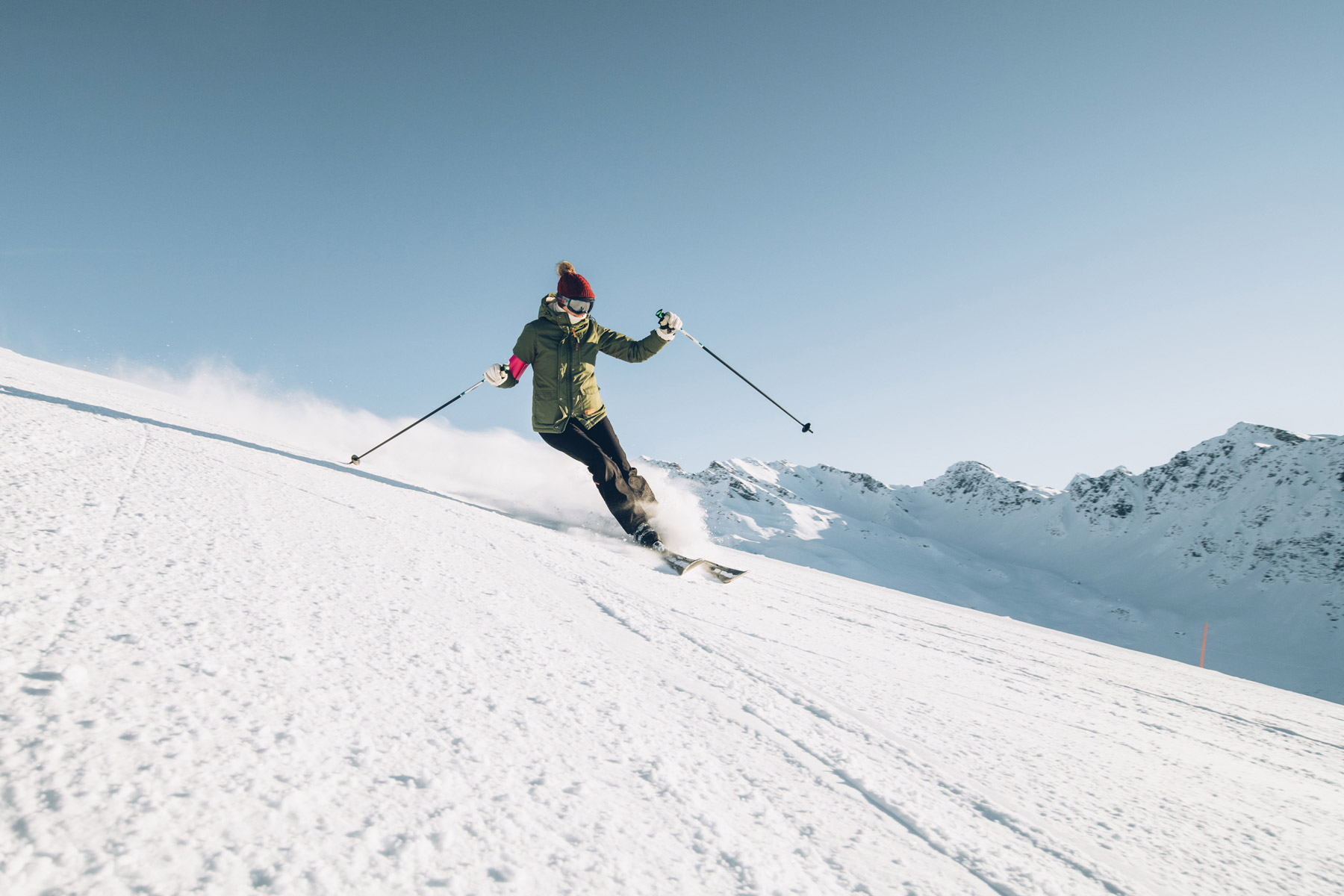 Ski Alpin, La Rosière