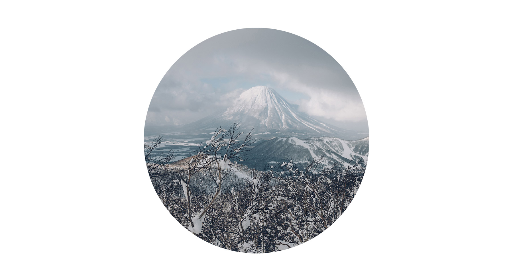 Hokkaido en hiver, Japon