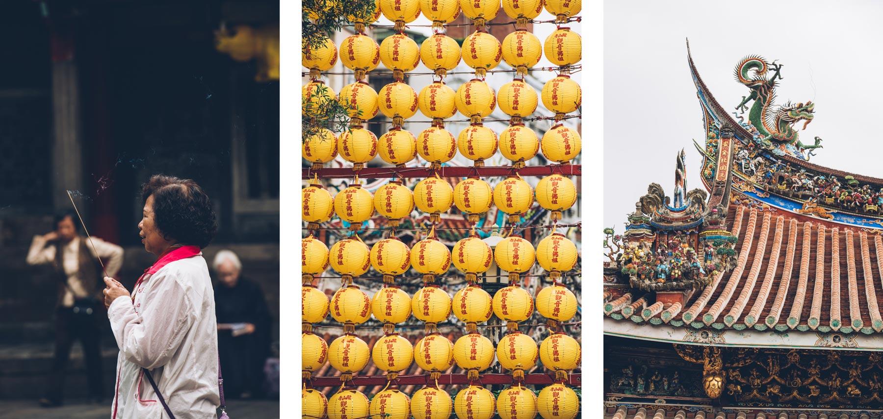 Visiter Taipei, temple Bao An