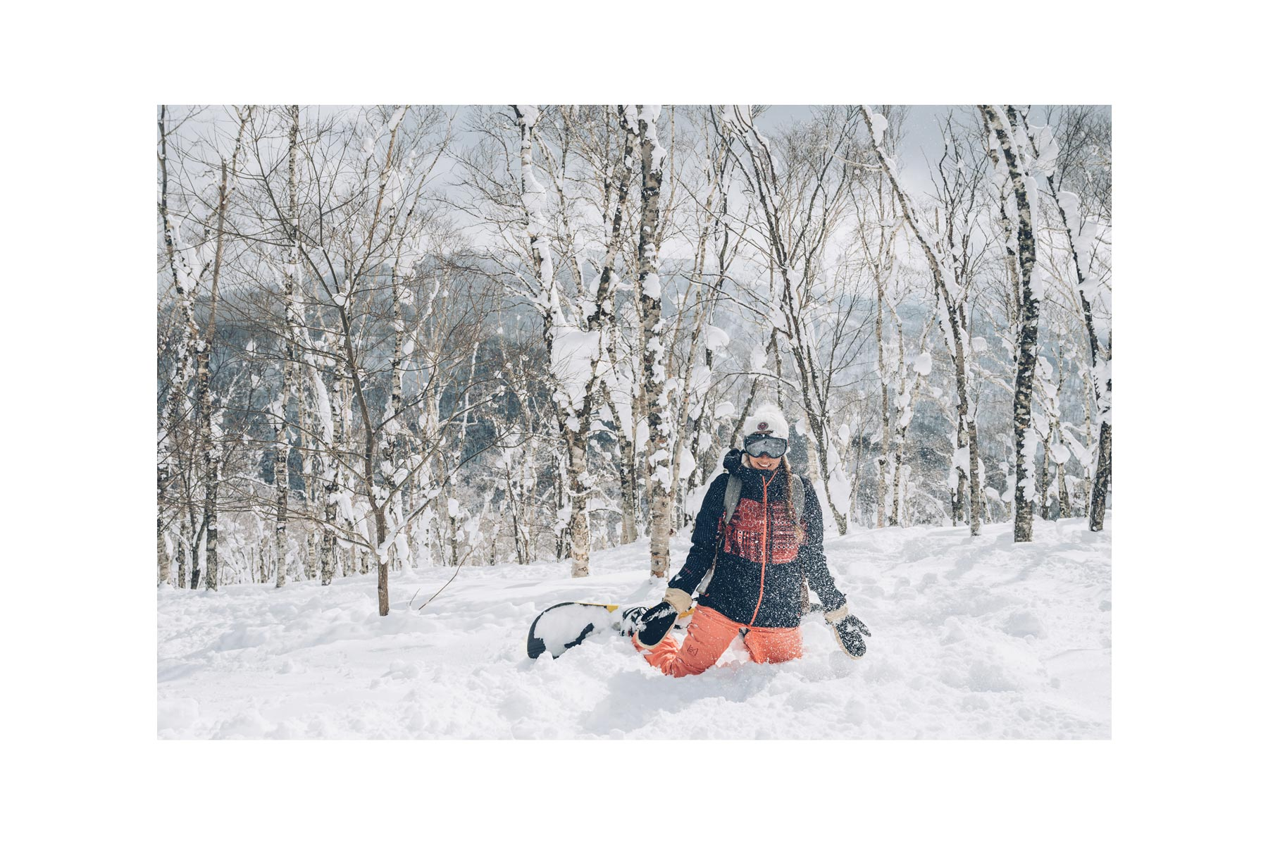 Snowboard au Japon, Burton