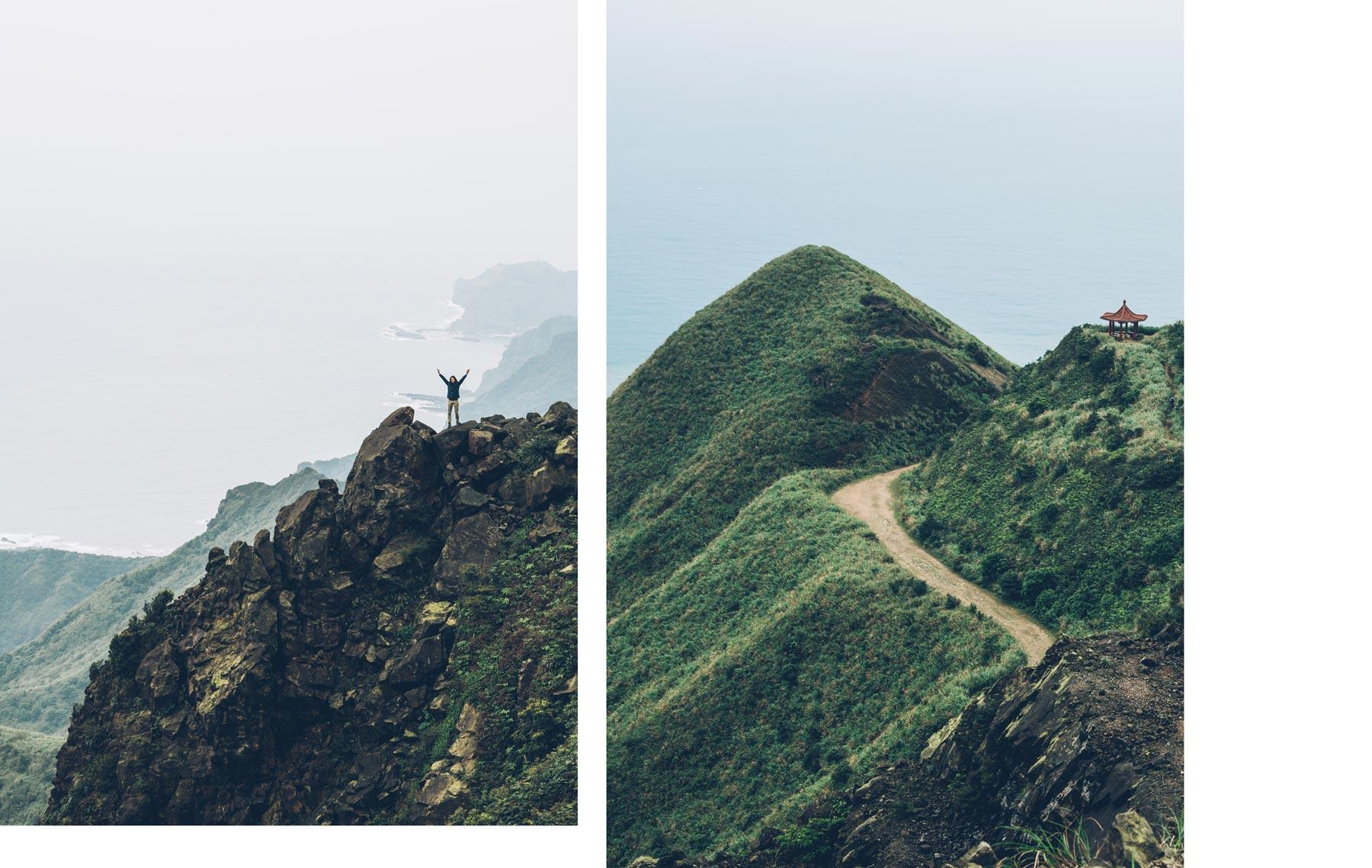 Randonnée Taiwan proche de Taipei: Tea Pot Mountain Trail