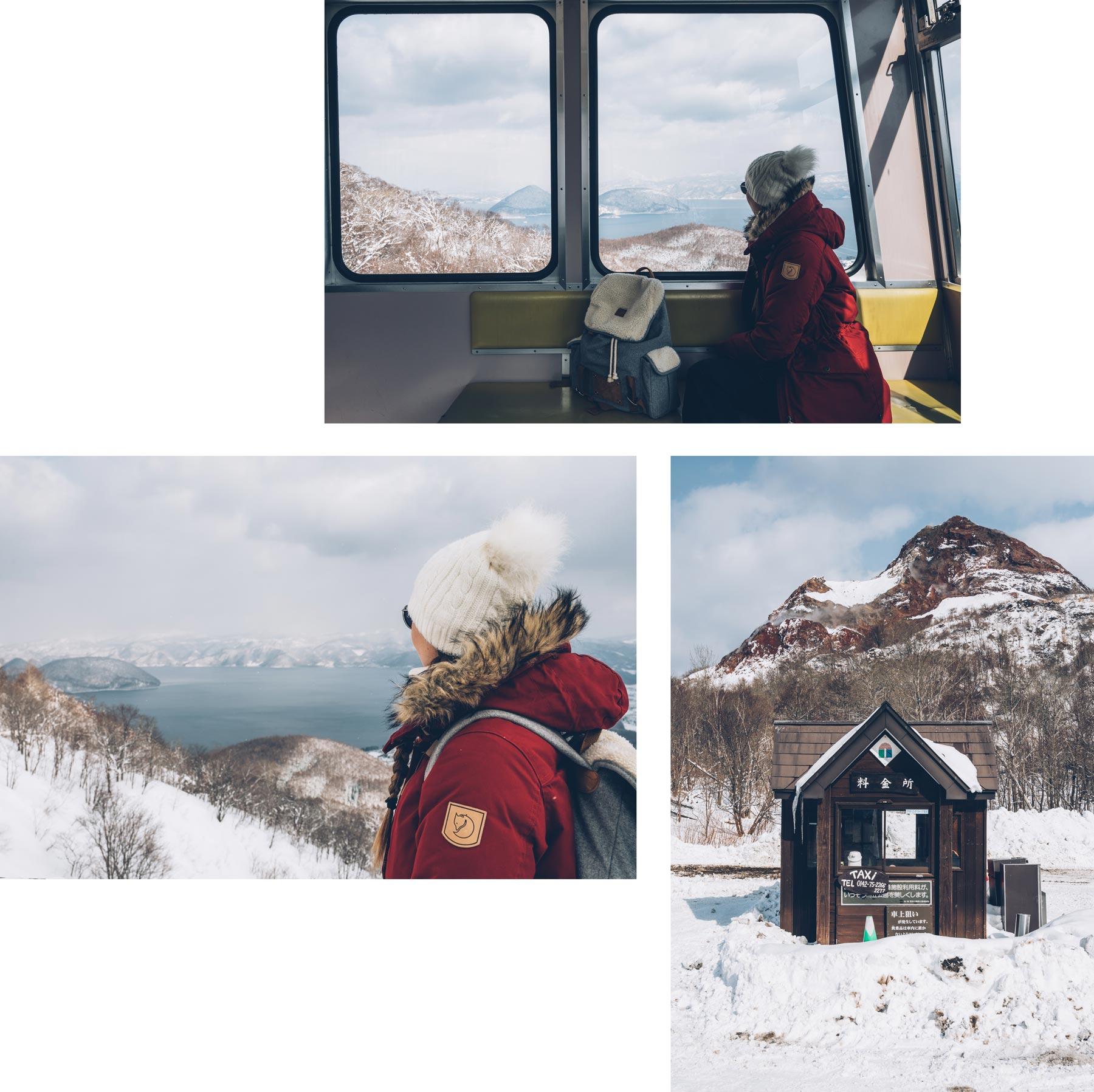 le téléphérique du mont Usu