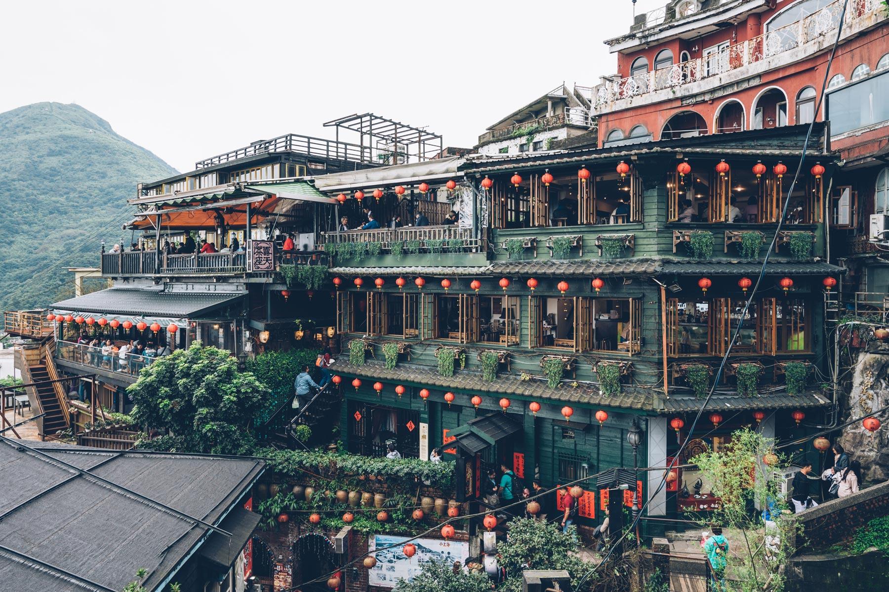 Village de Jiufen, Taiwan