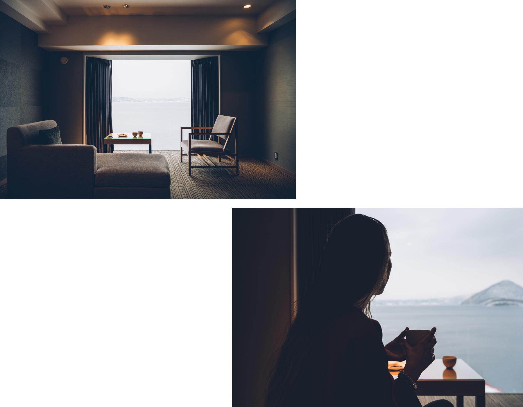 Nonokaze resort, Lake Toya, Hokkaido