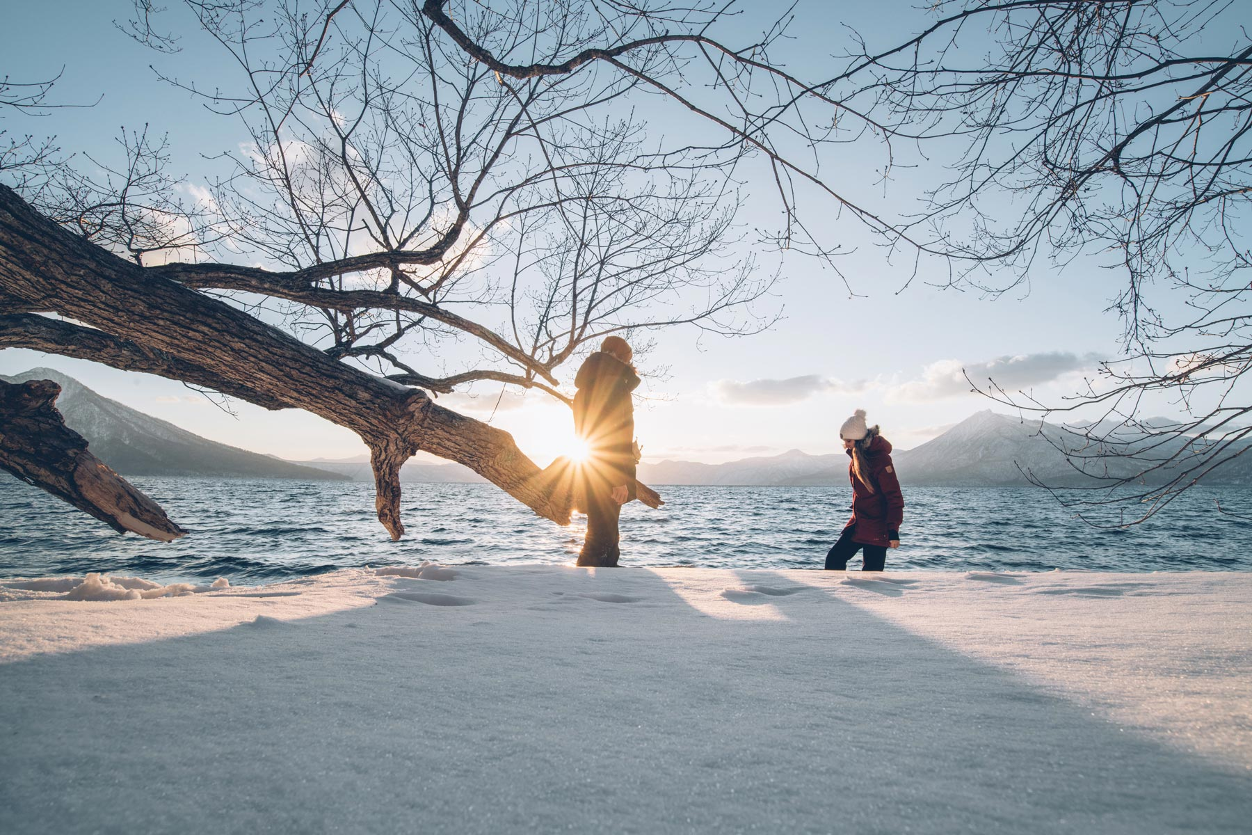 Lac Shikotsu, Japon