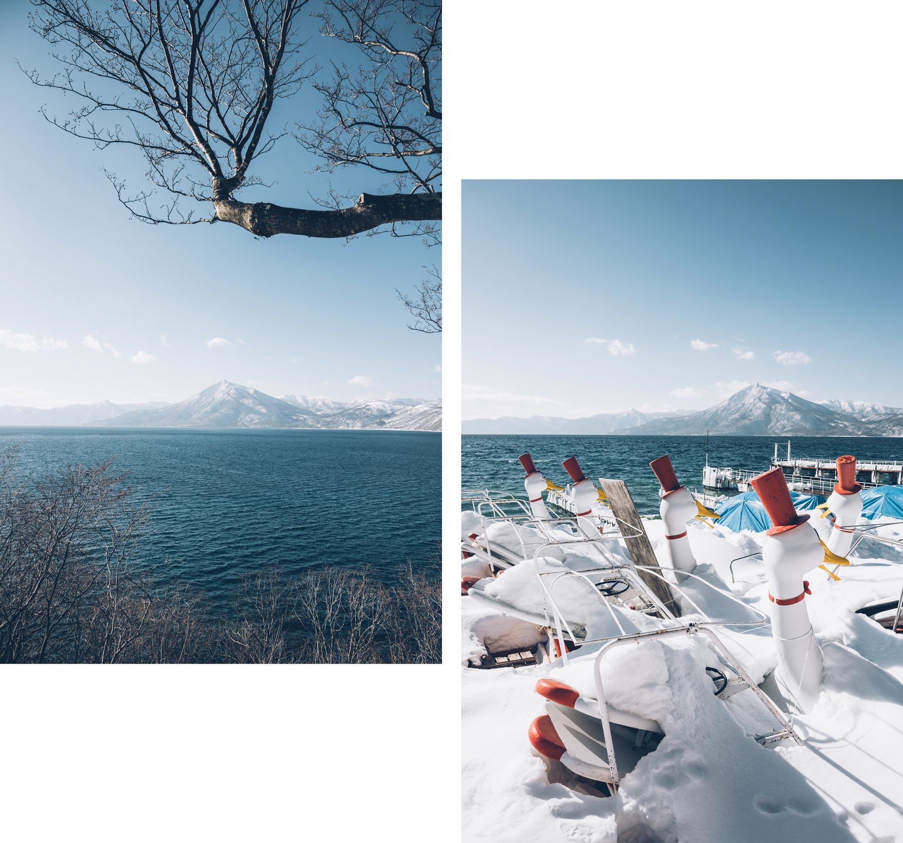 Lac Shikotsu, Japon, Hokkaido