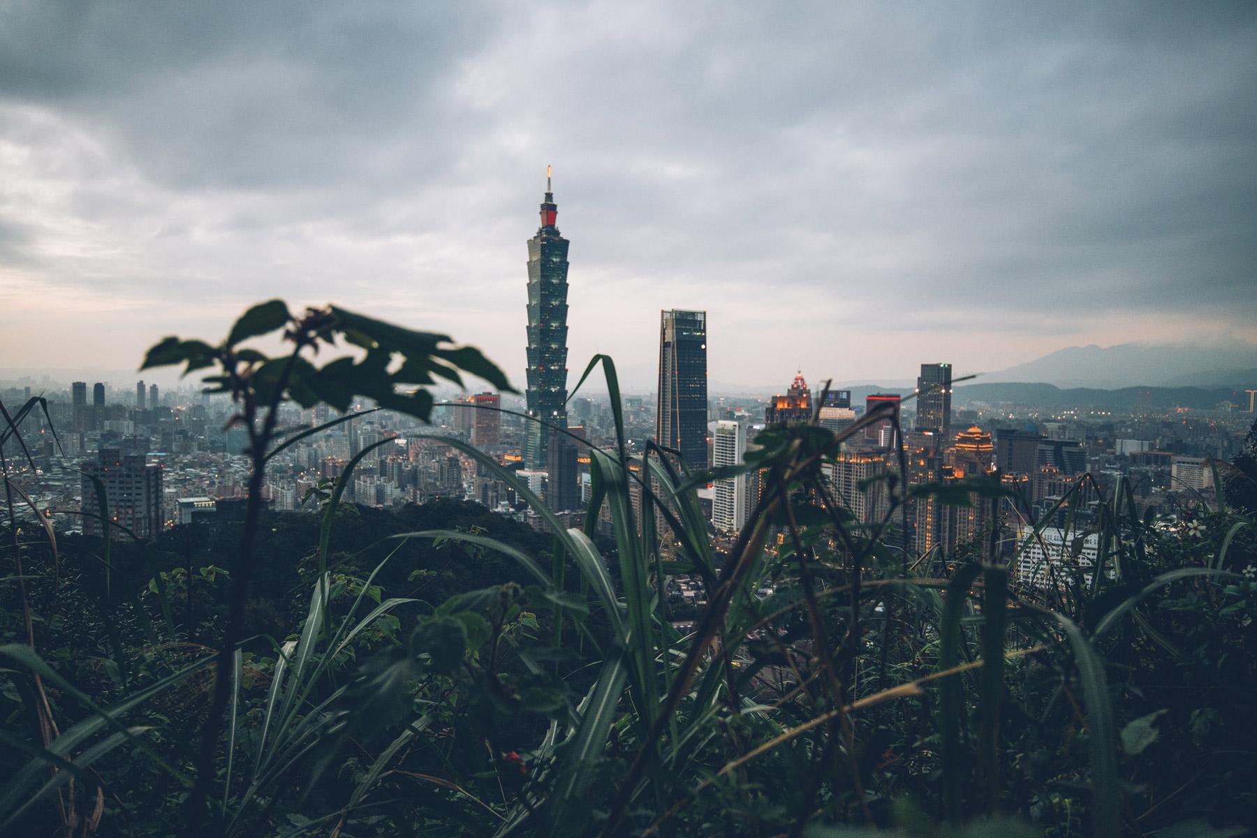 Meilleure Vue à Taipei: Elephant Mountain