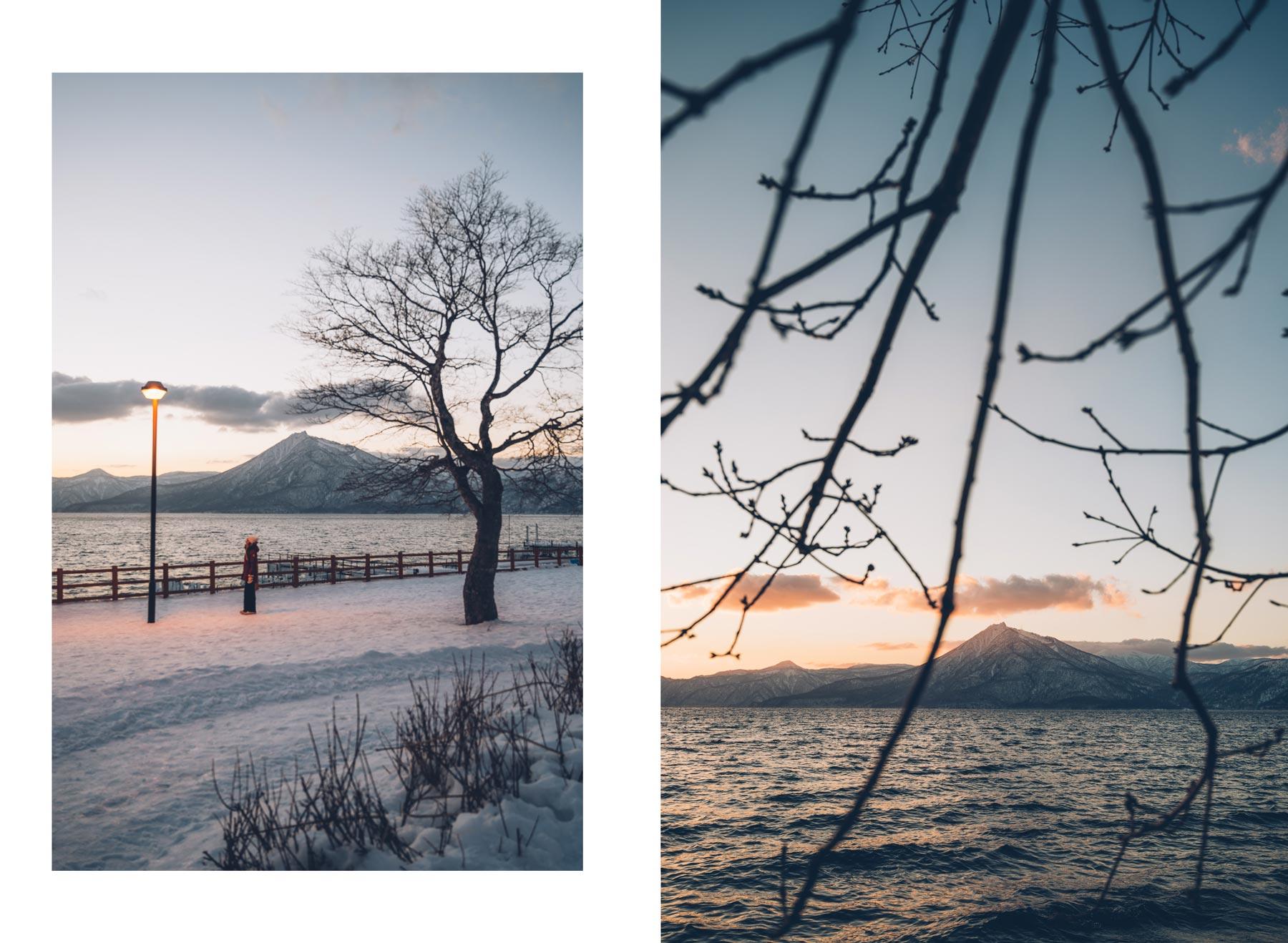 Lac Shikotsu, Hokkaido