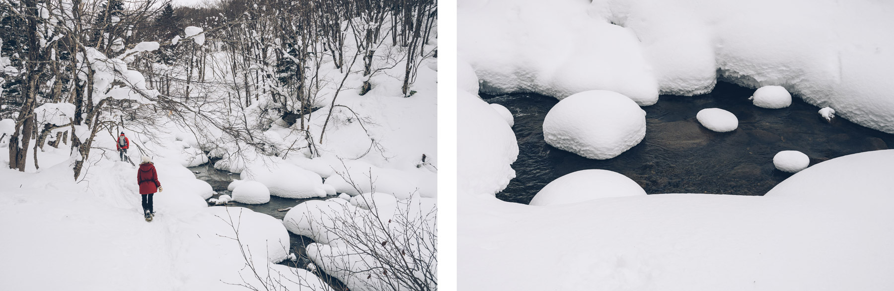 Rando raquette, Hokkaido
