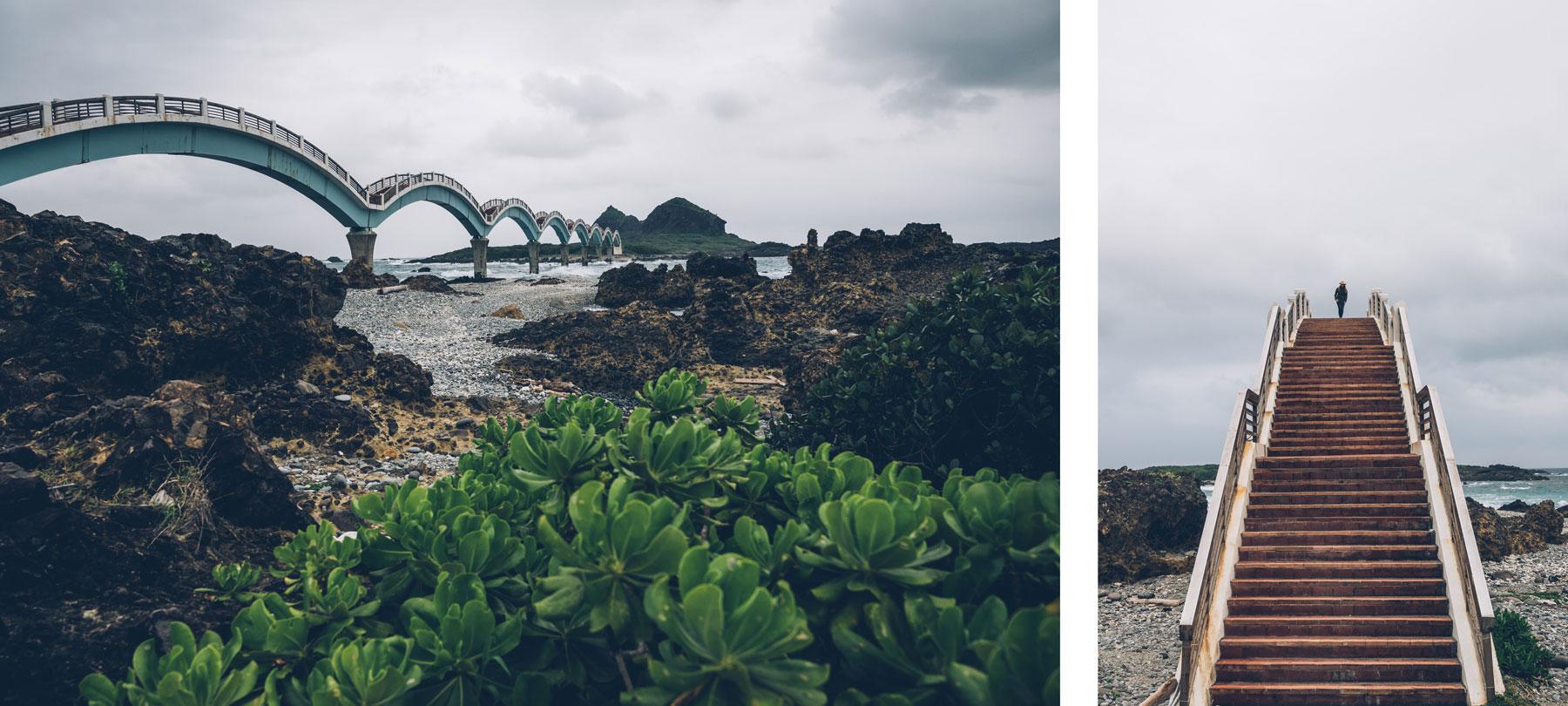 Le pont de Sanxiantai, Taiwan