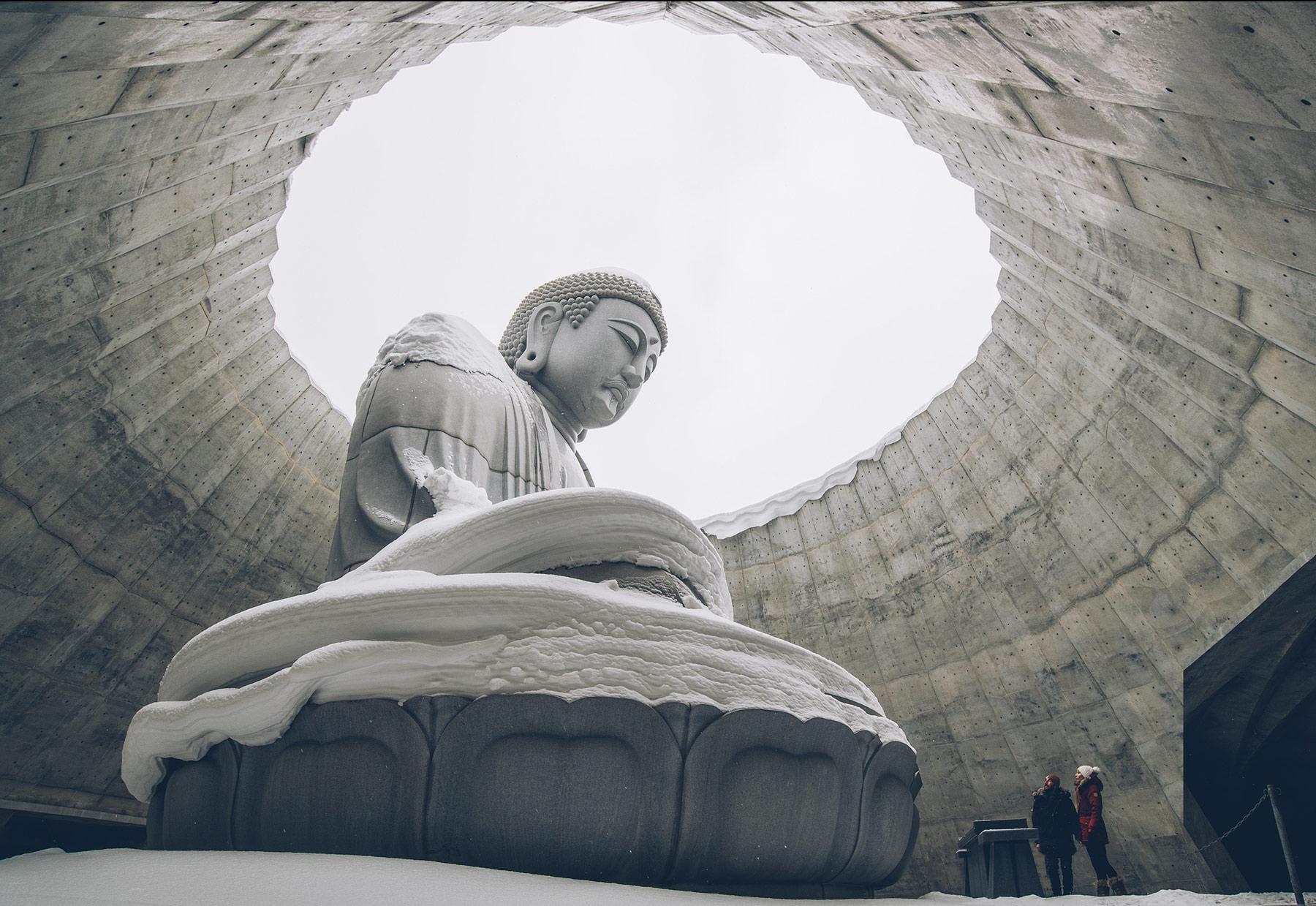 Makomanai Takino Cementary, Bouddha