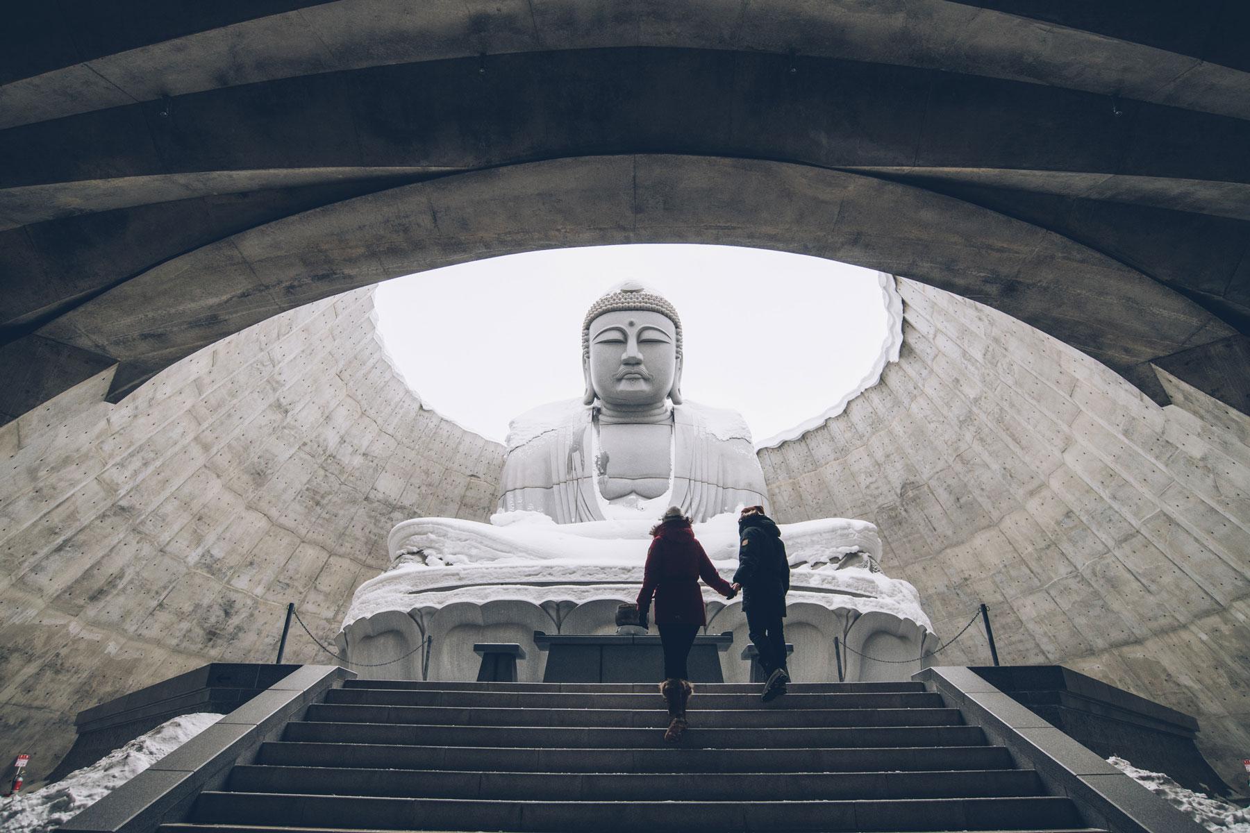Le Bouddha d'Hokkaido, Sapporo