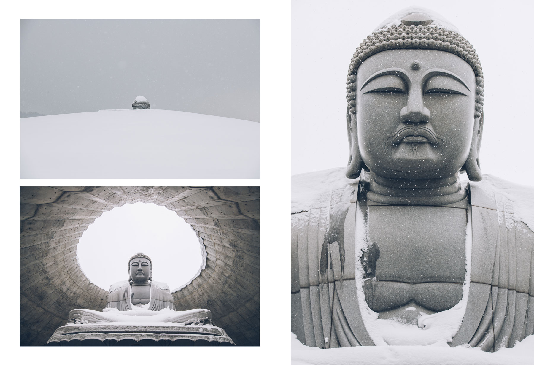 Makomanai Takino Cementary, Hokkaido, Buddha