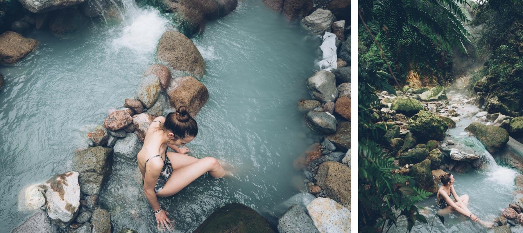 Sources d'eau chaude près de Taipei, Yangmingshan National Park