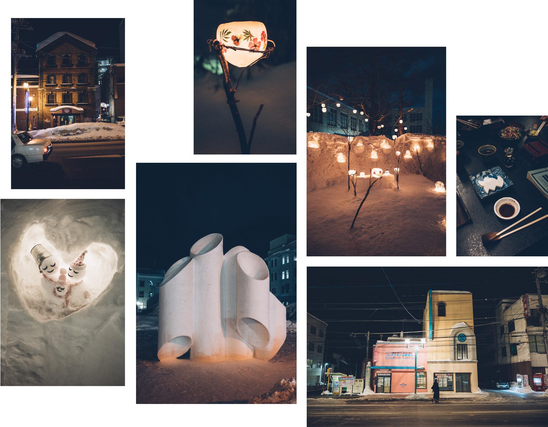 Otaru, light festival