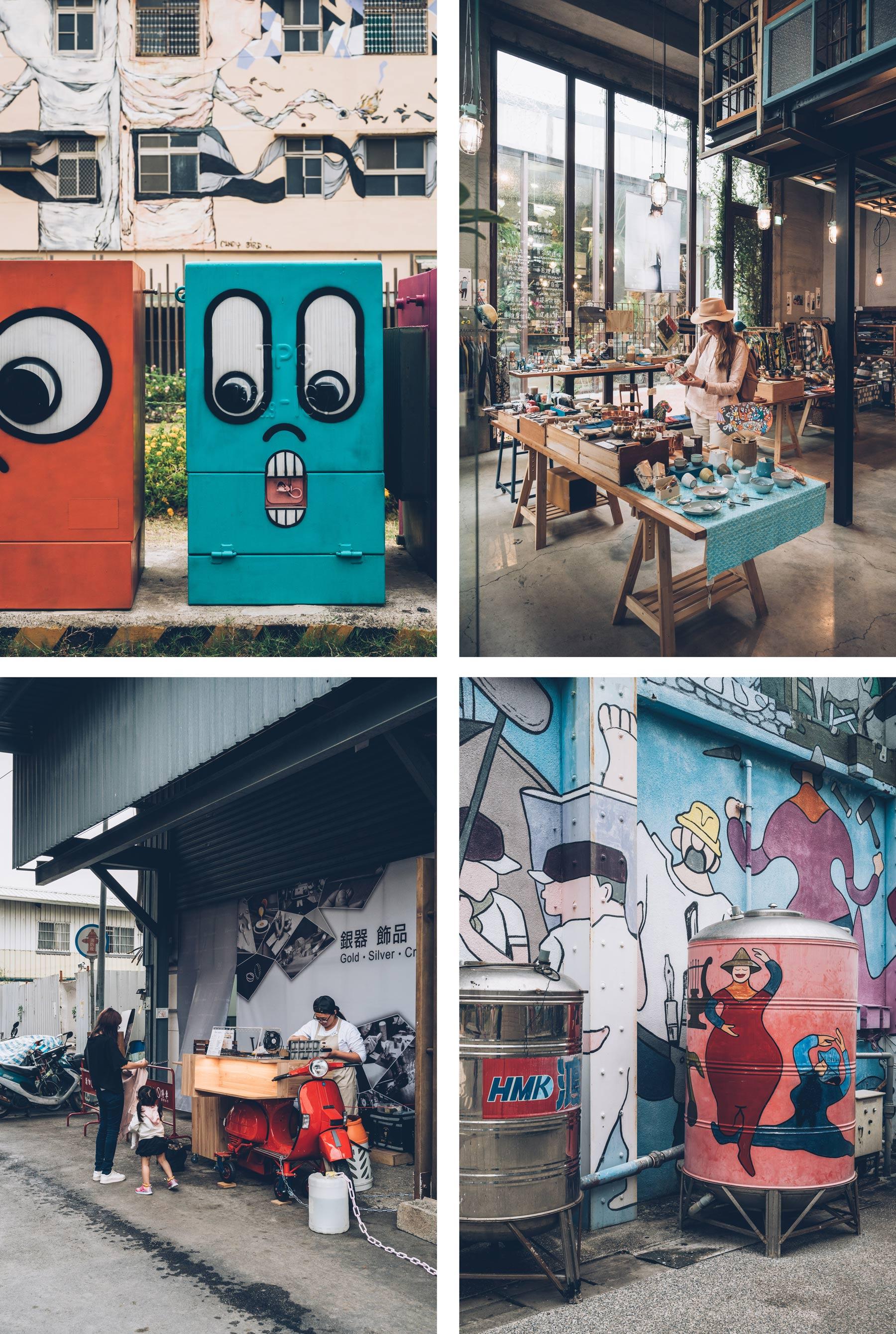 Kaohsiung, Pier 2, Taiwan
