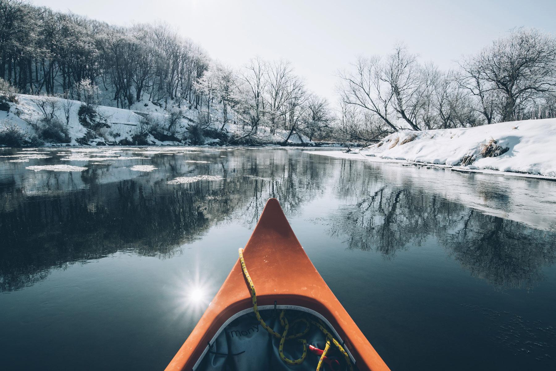 Parc national de Kushiro Shitsugen, Canoe