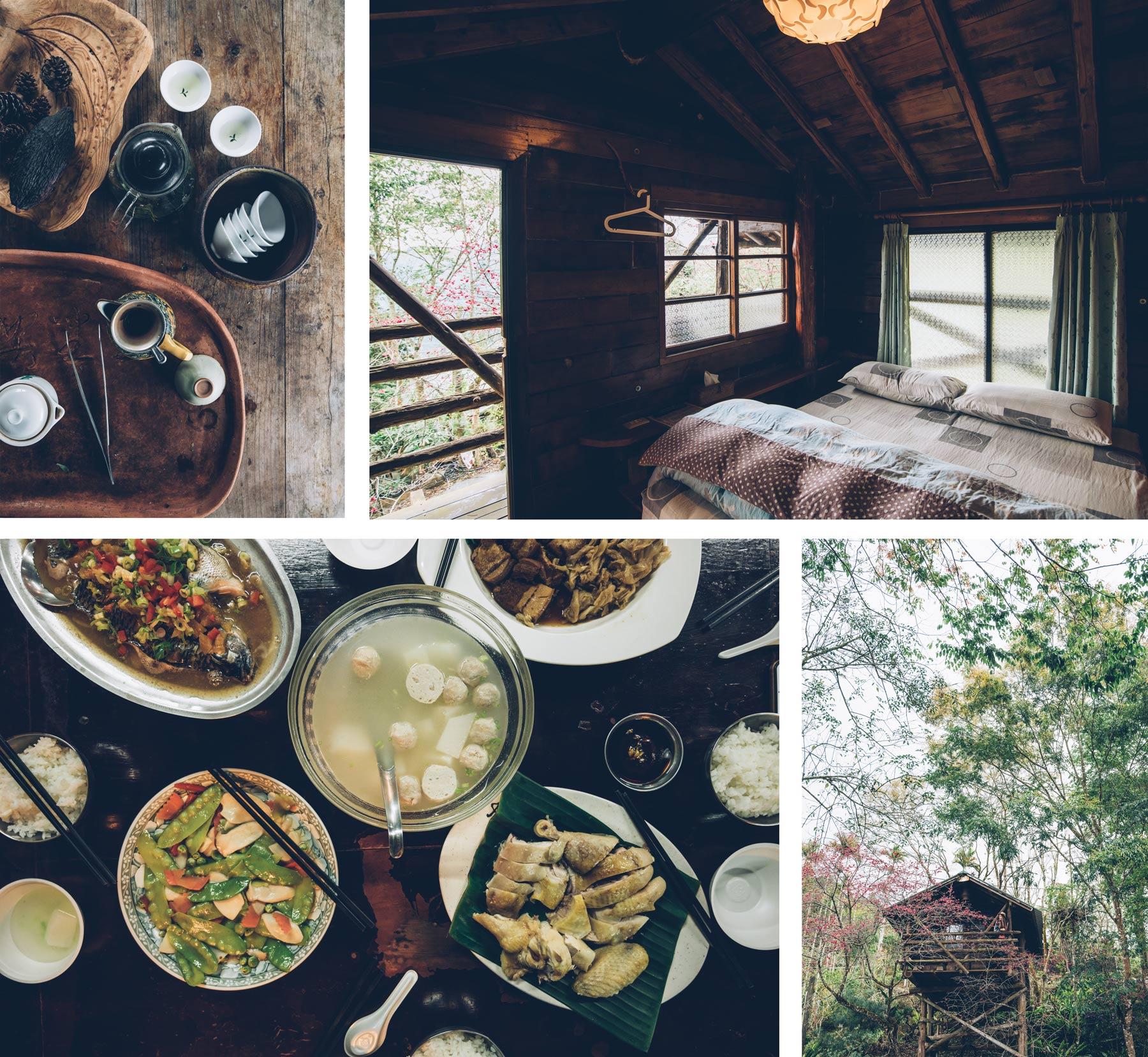 Dormir dans une cabane à Taiwan