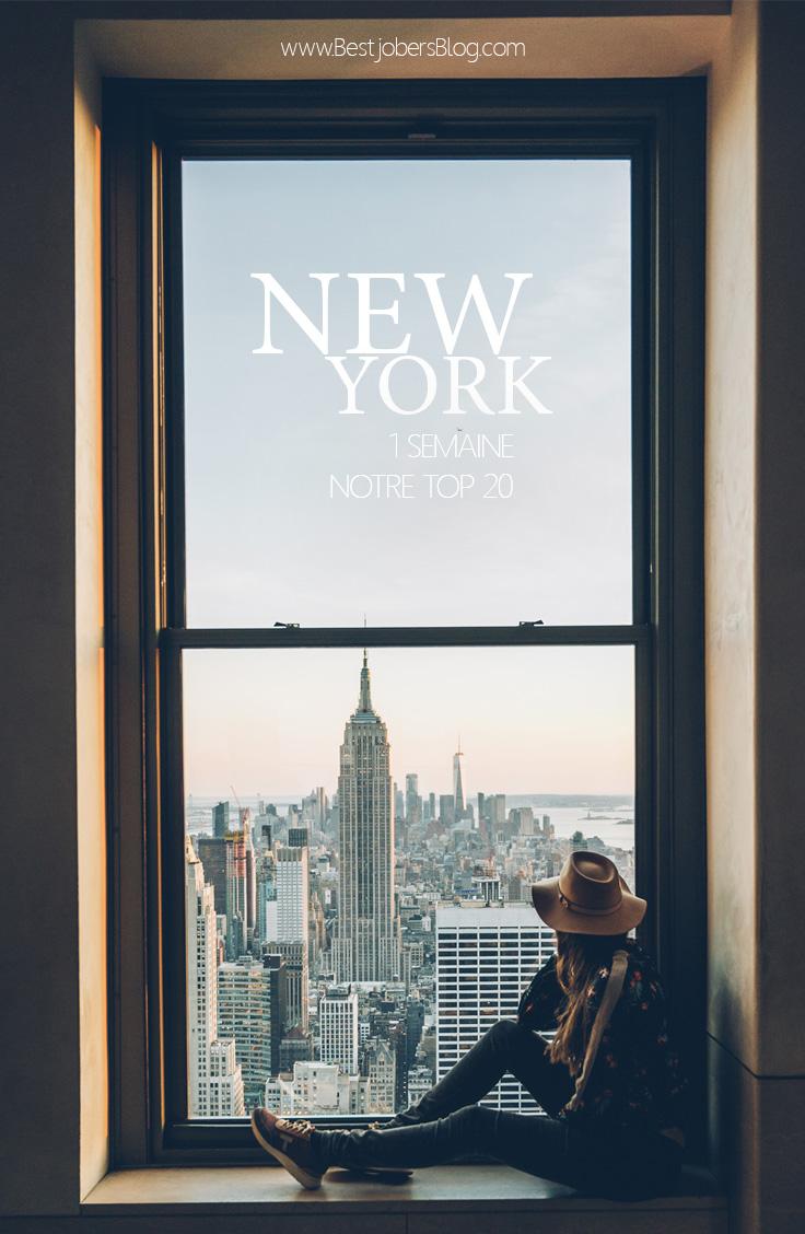 Premiere fois a New York les incontournables