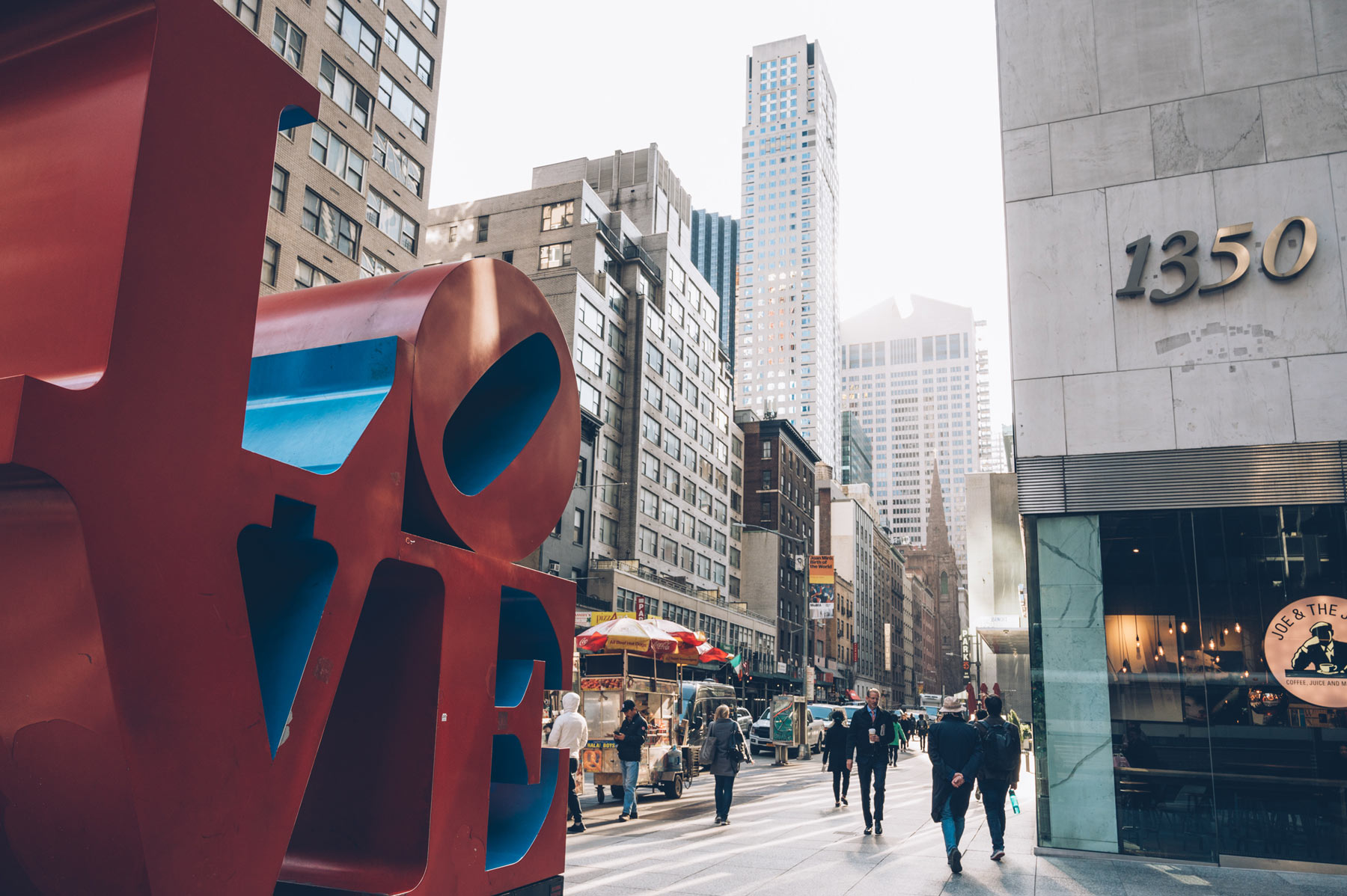 LOVE Sculpture, New York