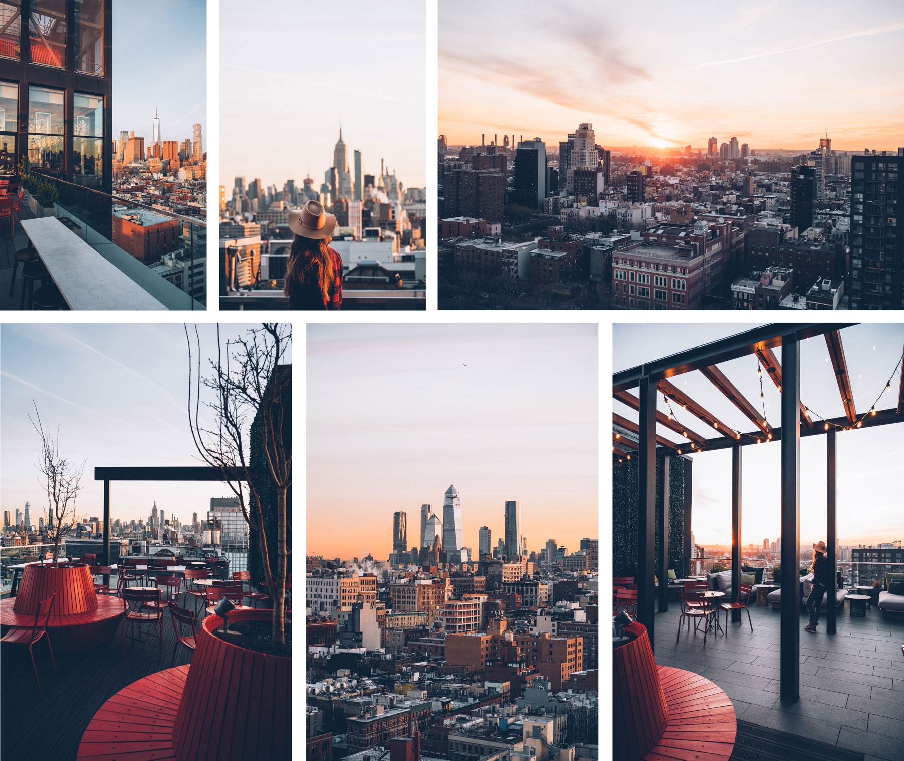 Roof Top CitizenM Bowery, Hotel New York