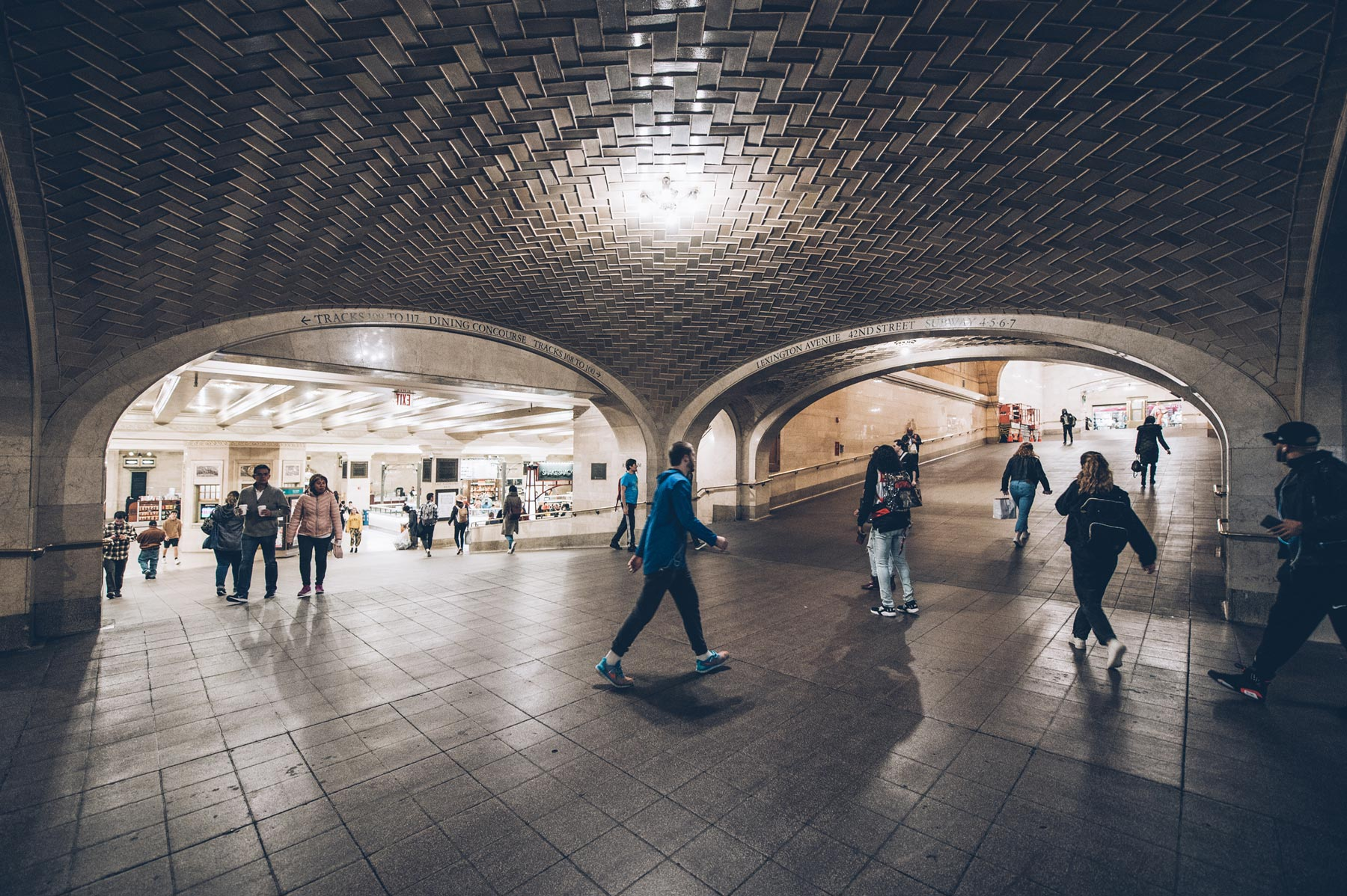Insolite New York, The Whispering gallery, Grand Central