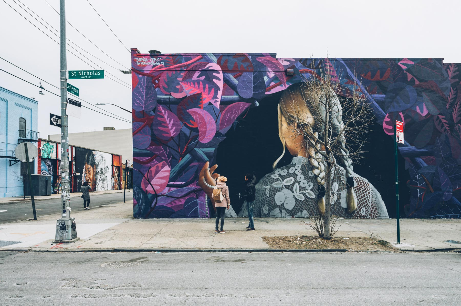 Visite guidée en français Brooklyn, Street Art à Bushwick