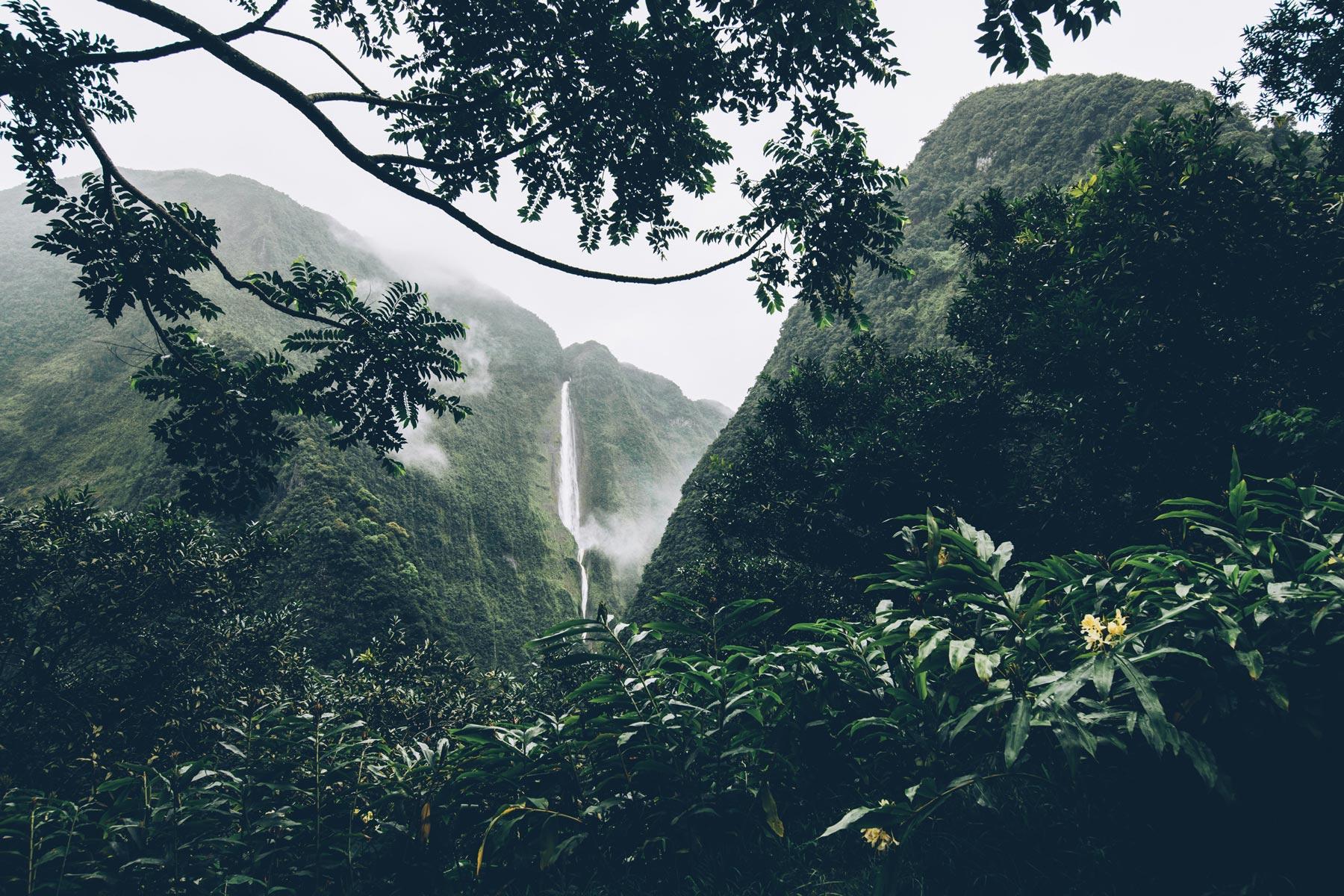 Cascade Blanche, Salazie, Ile de la Réunion
