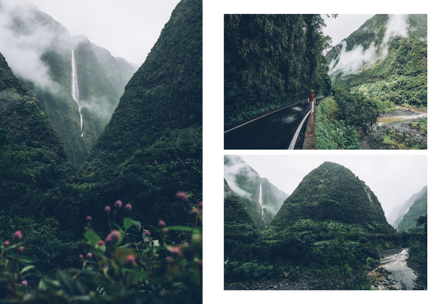 la Cascade Blanche, Salazie, La Réunion
