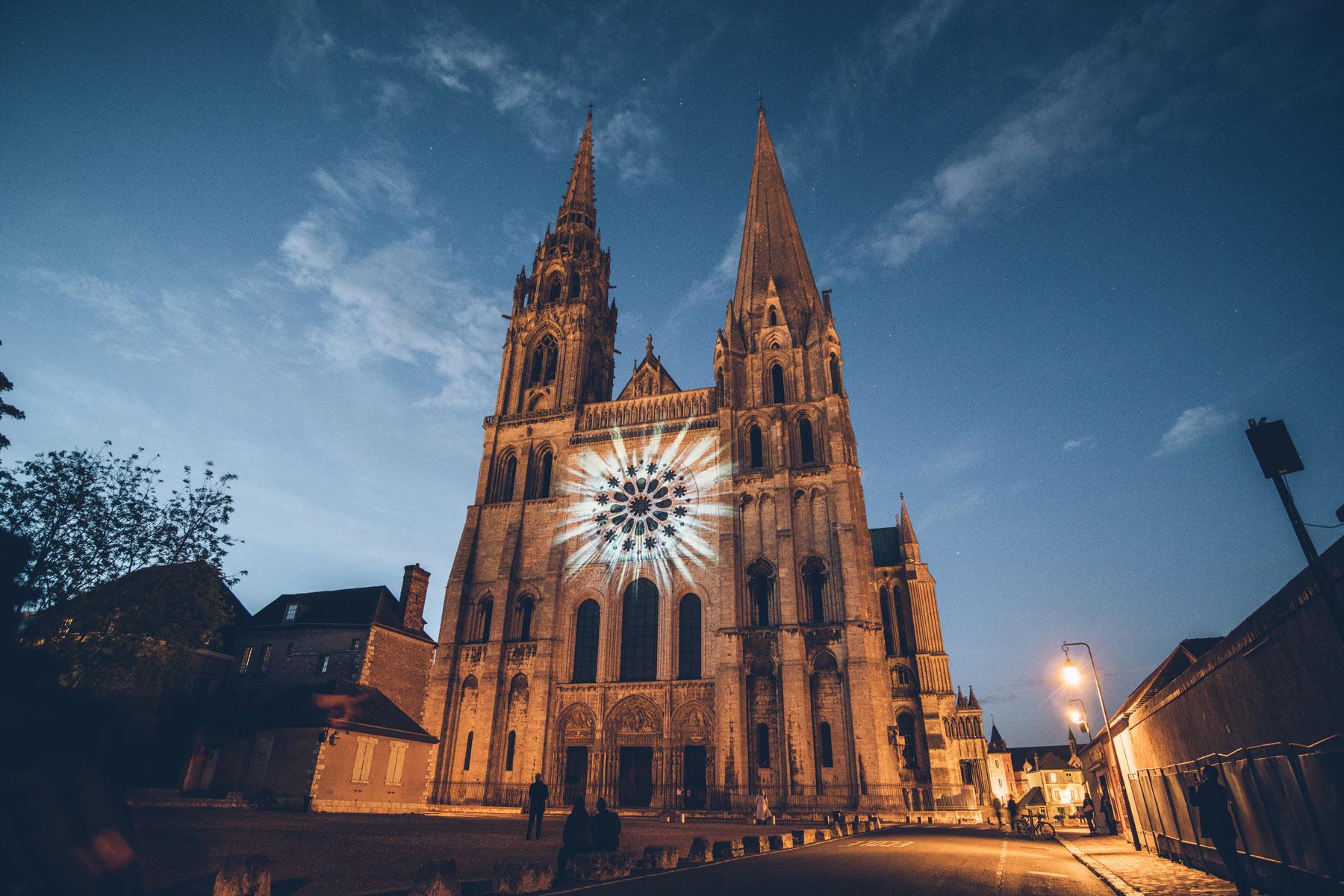Chartres en Lumière, Blog