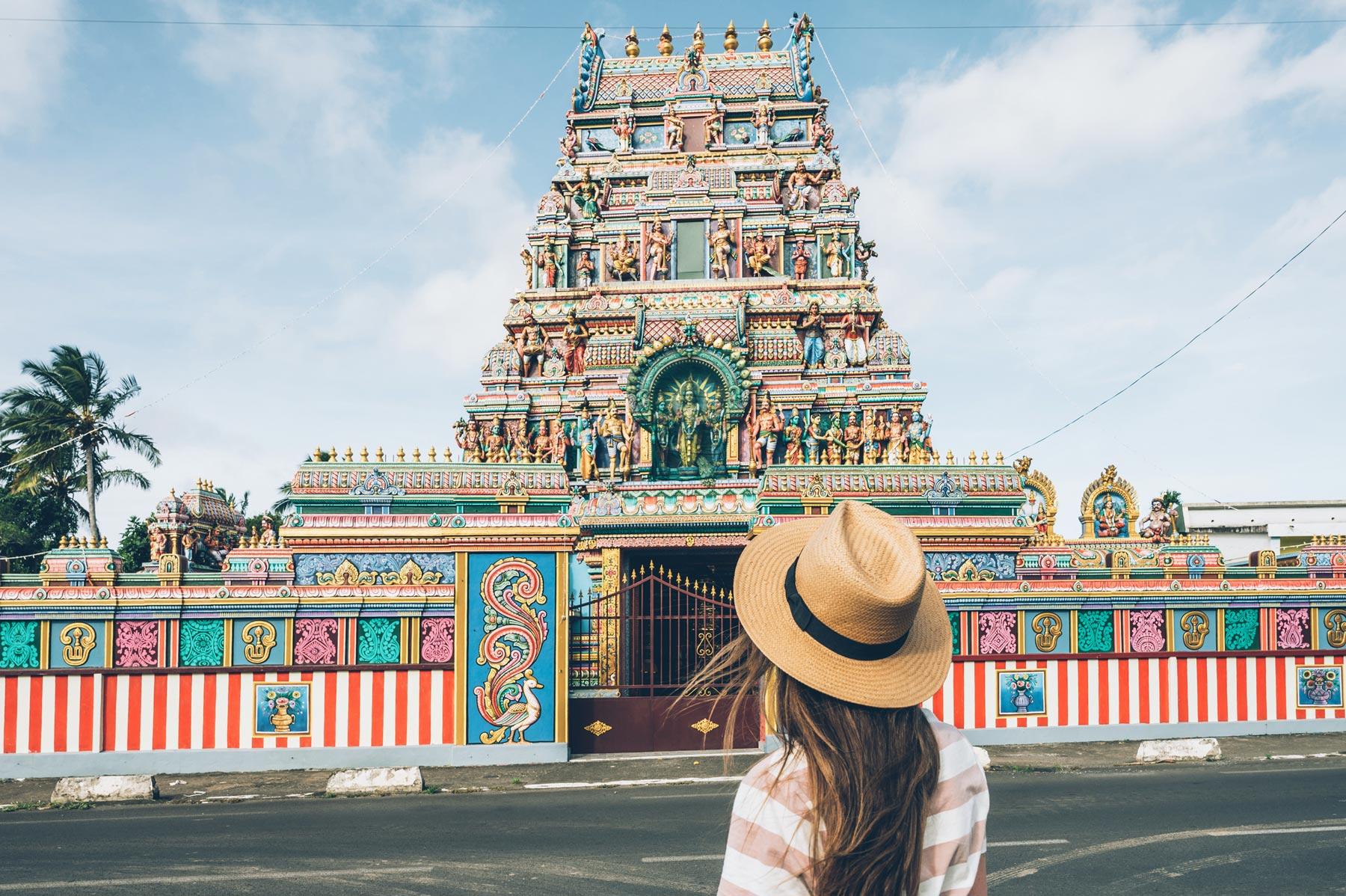 Temple Tamoule Indien, La Réunion, Saint André