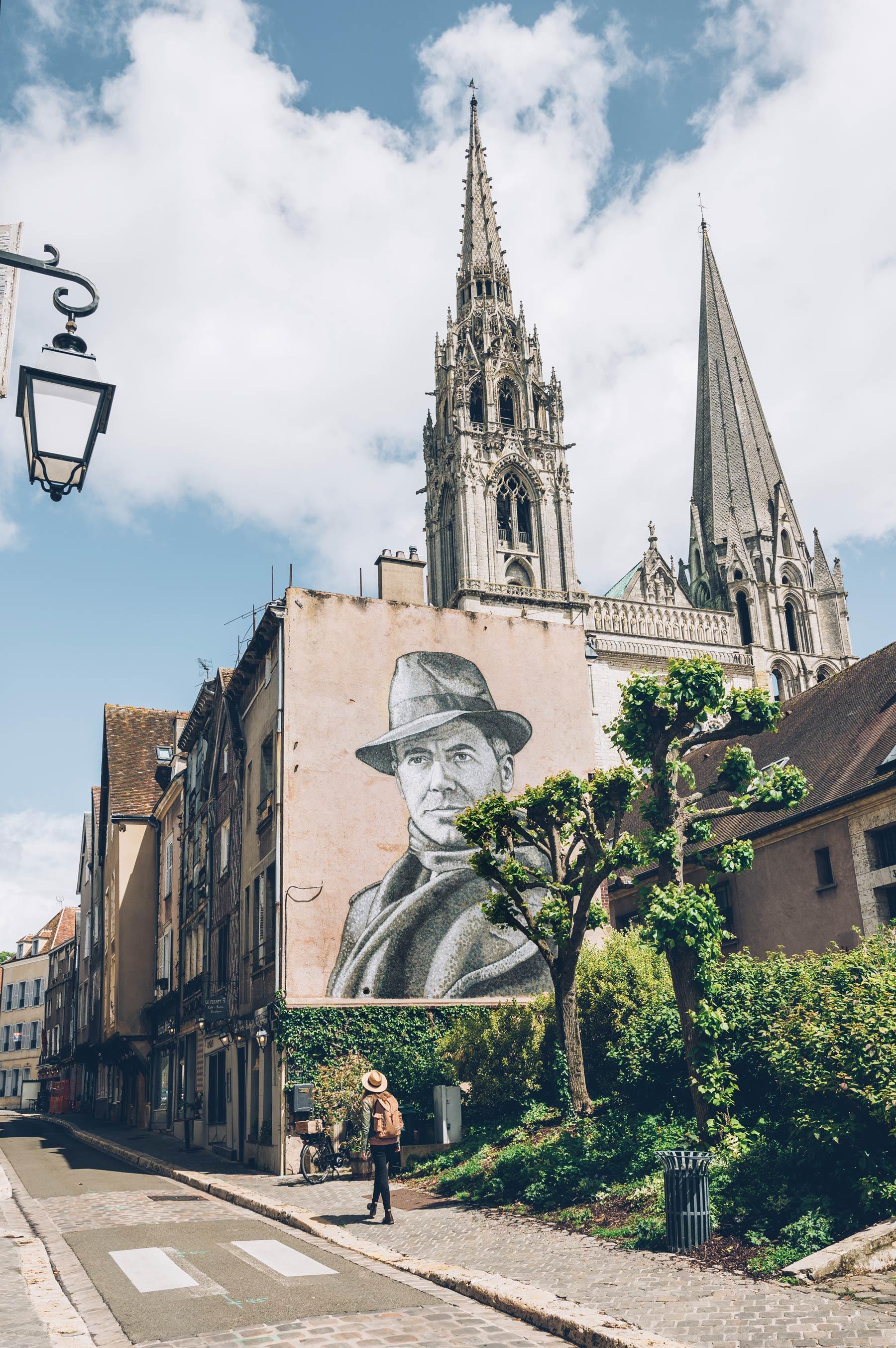 Chartres Street Art, Jean Moulin