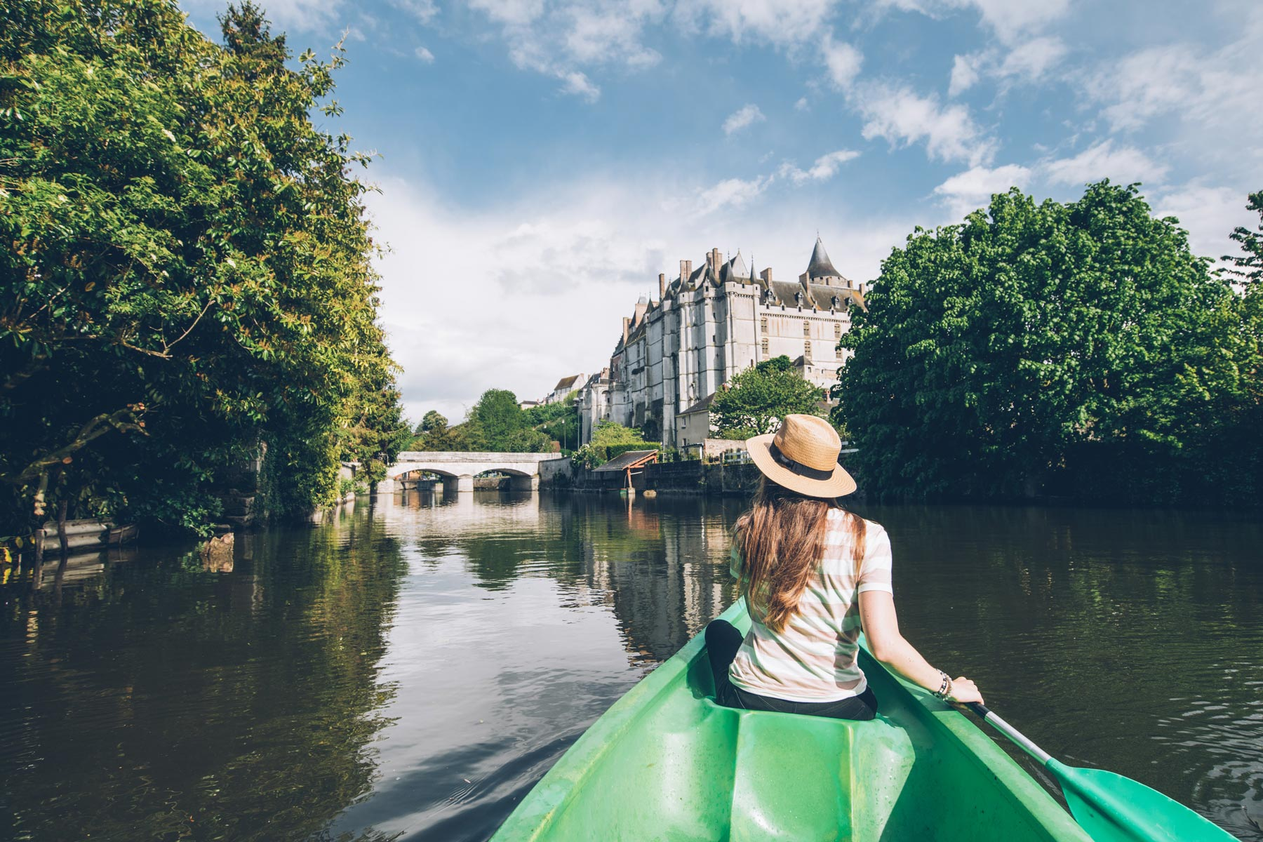 Chateaudun, location canoe
