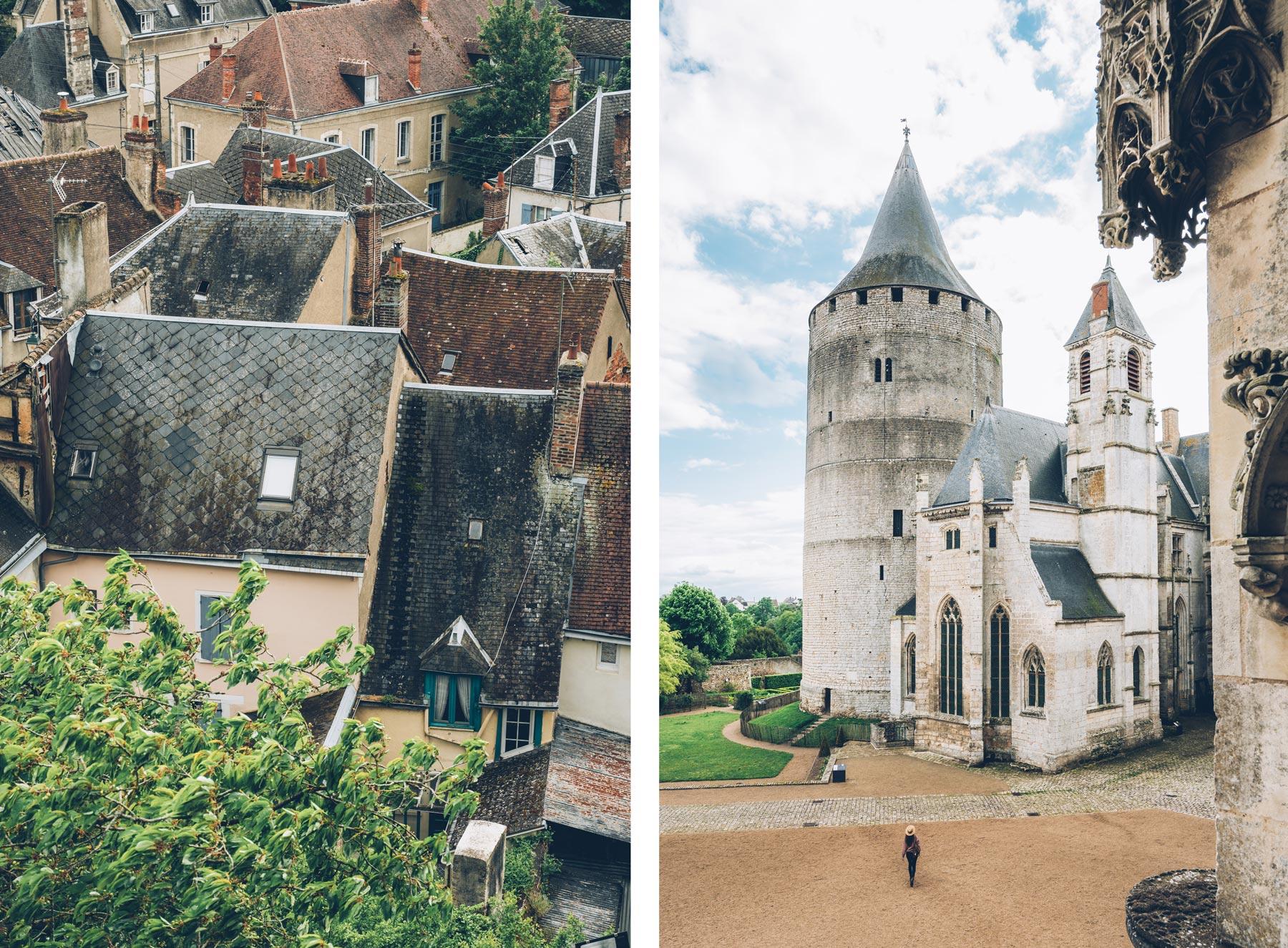 Chateau de Chateaudun, blog voyage