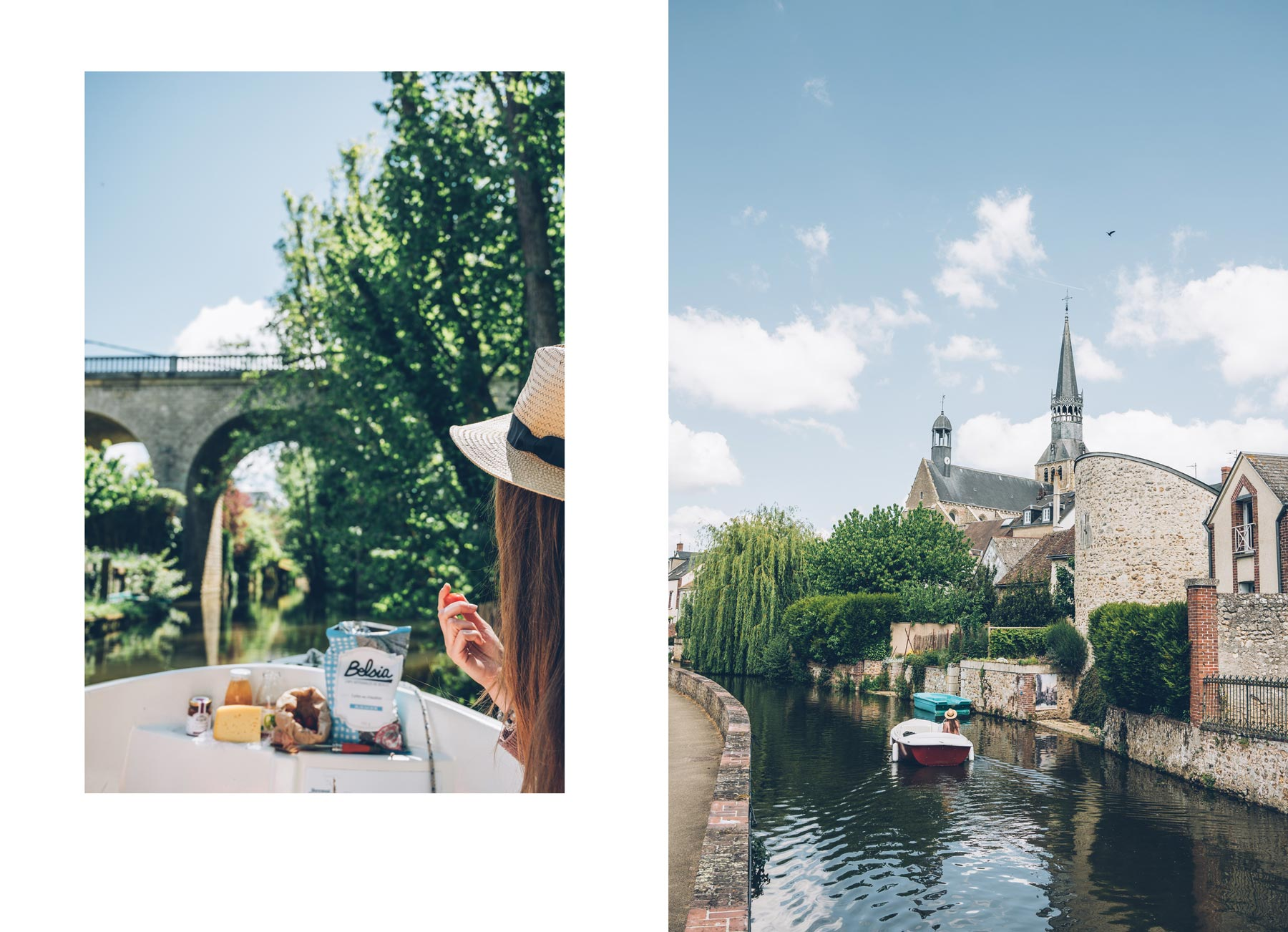 Bonneval, Eure et Loir, bateaux electriques