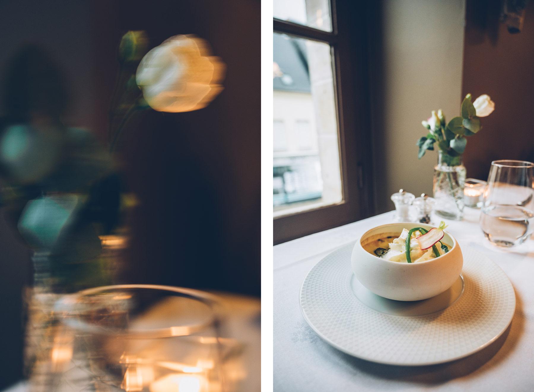 Restaurant l'Ascalier à Brou, près du Moulin de la Ronce, Eure et Loir