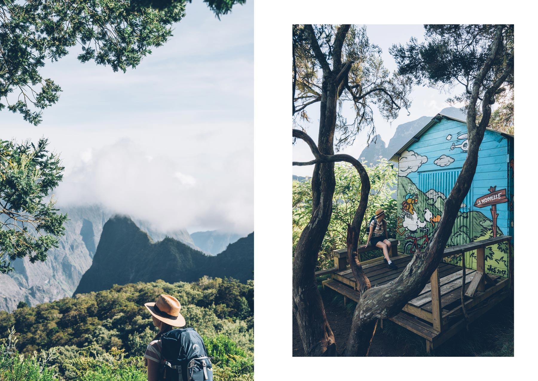 Randonnée dans Mafate, La Réunion