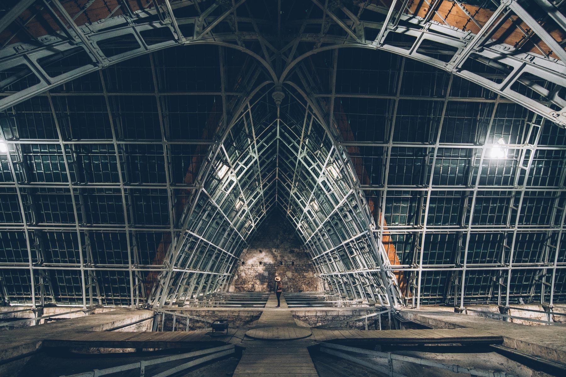 Cathédrale de Chartres, Charpente en acier